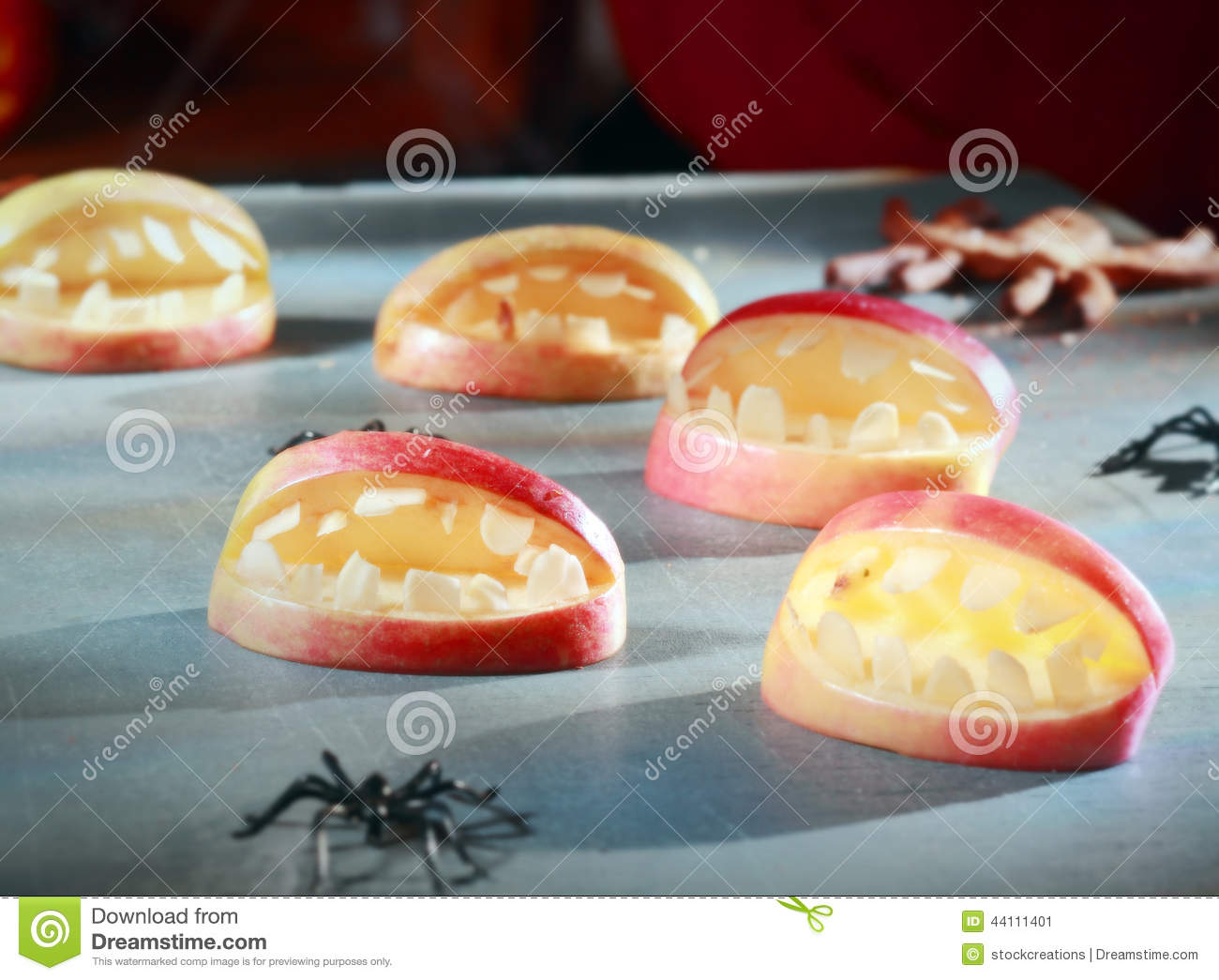 Scary Halloween Decorations For Favors Stock Photo - Image: 44111401