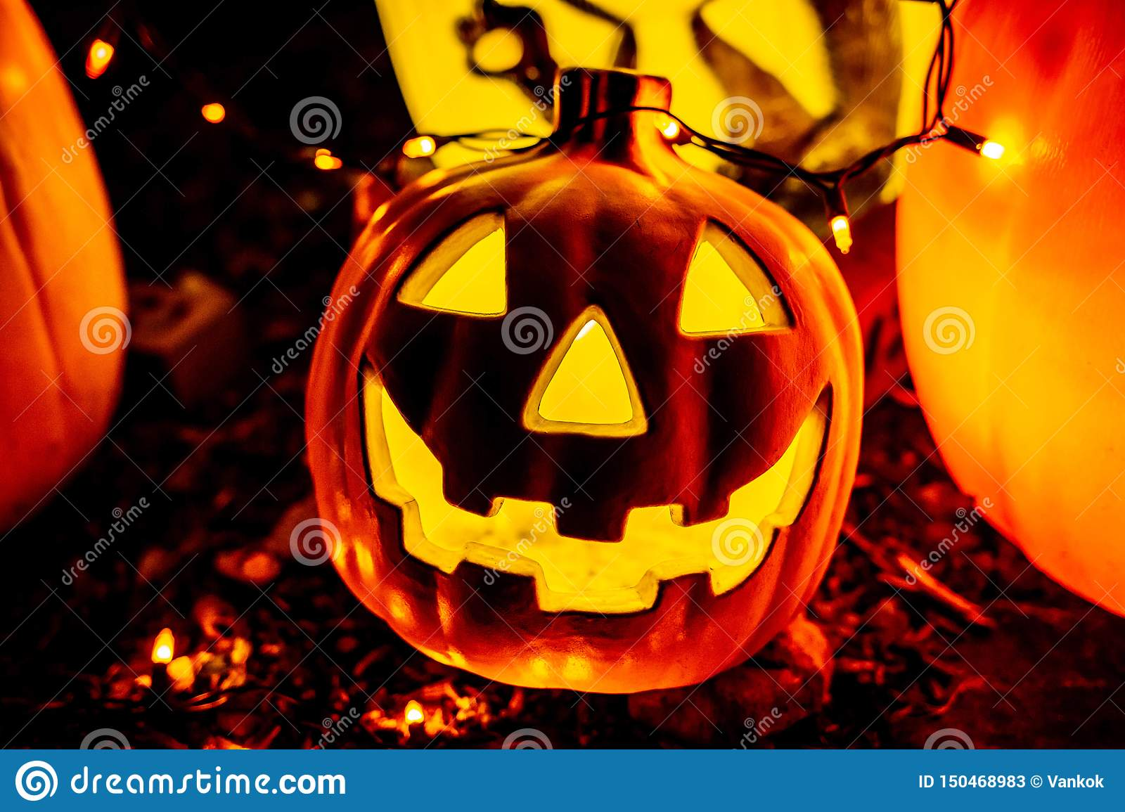 Accessories Party Night Lamp Candle Light Halloween