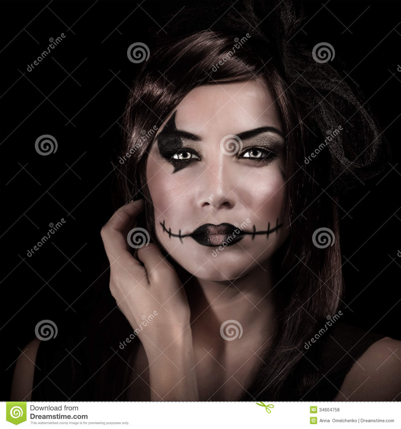 Related Keywords & Suggestions for Witch Halloween Costume Makeup