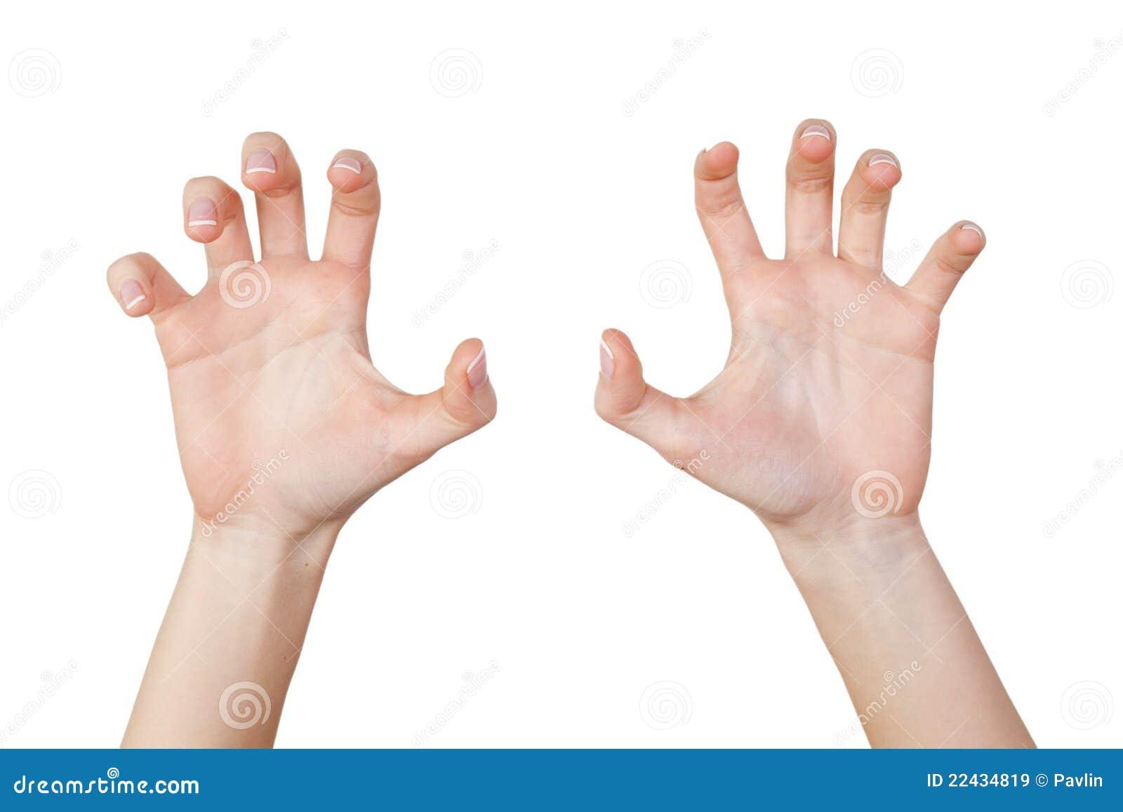 Scary Dementor Child Hands - Kids Harry Potter Dementor Costume Gloves