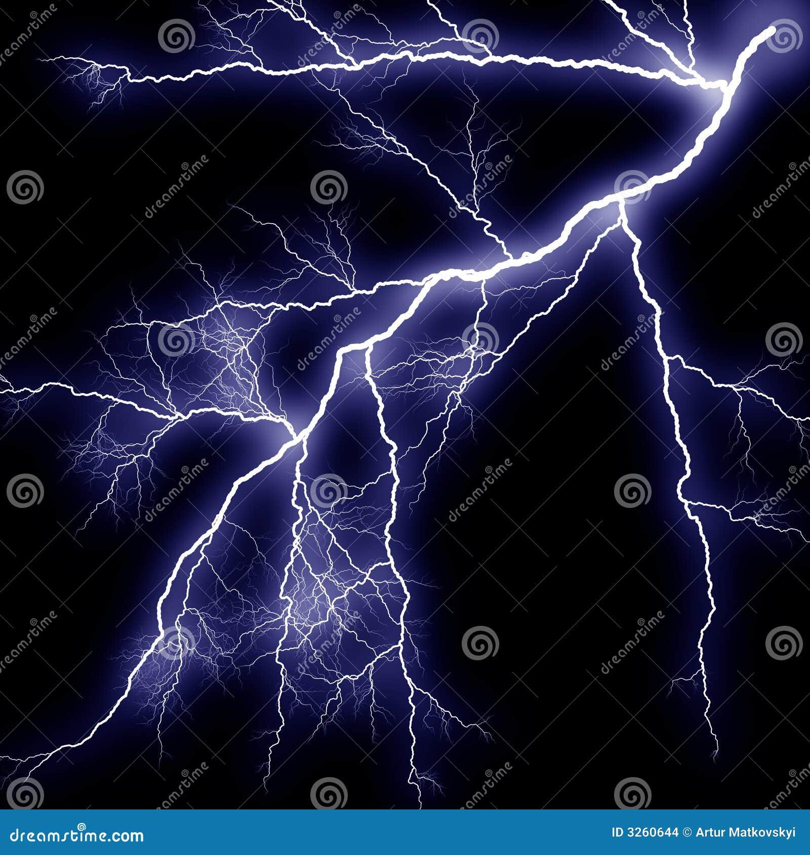 Scary Lightning Stock Images Image 3260644