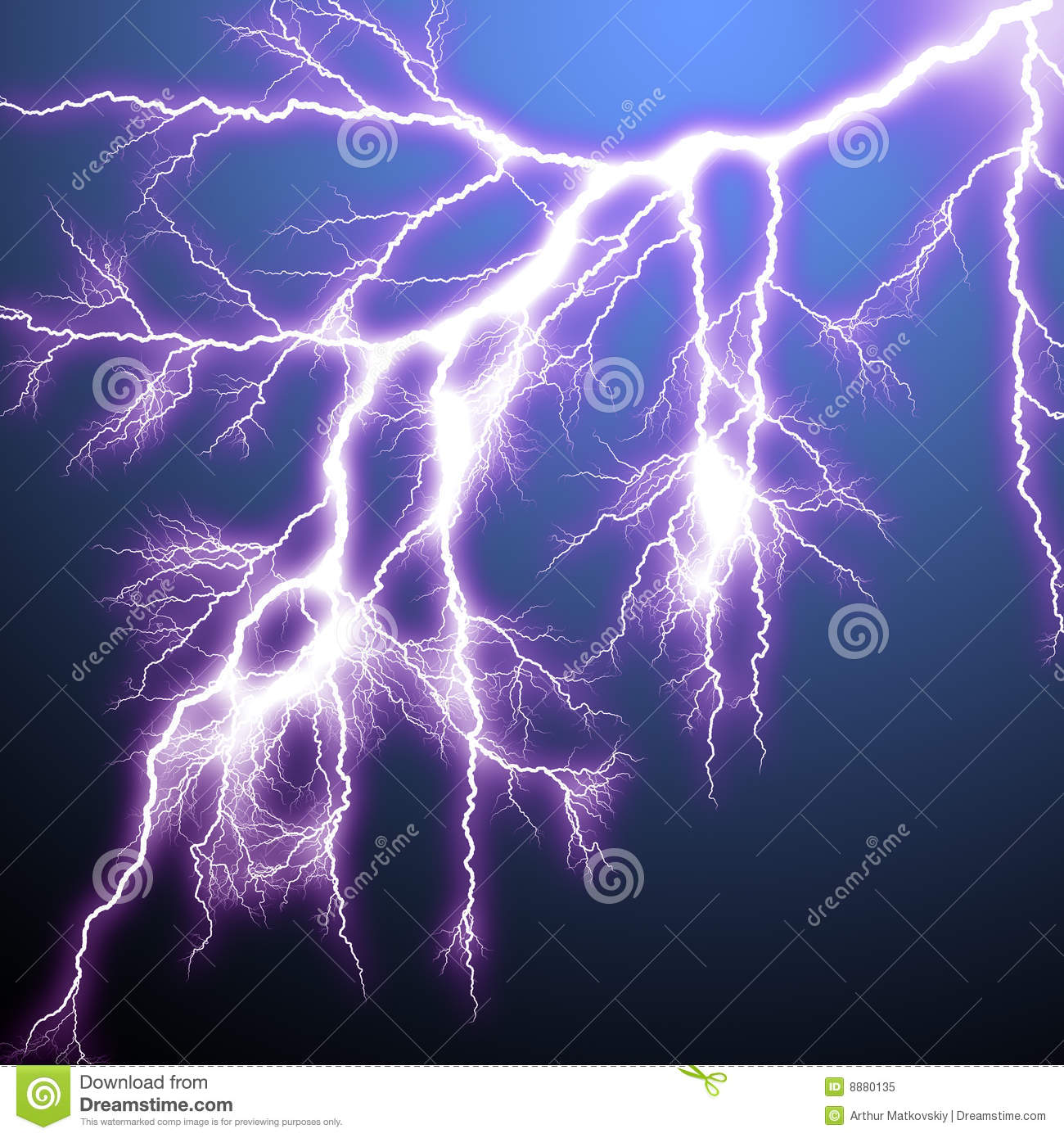 scary lightning stock illustration illustration of abstract 8880135
