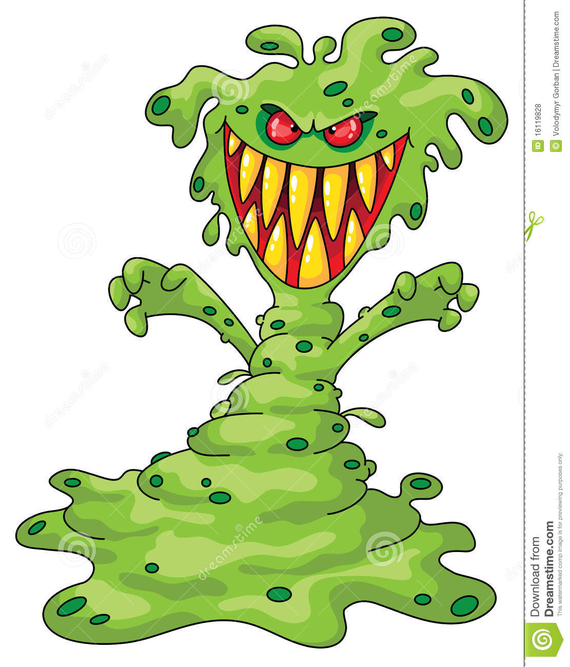 Scary Monster Royalty Free Stock Photos Image 16119828