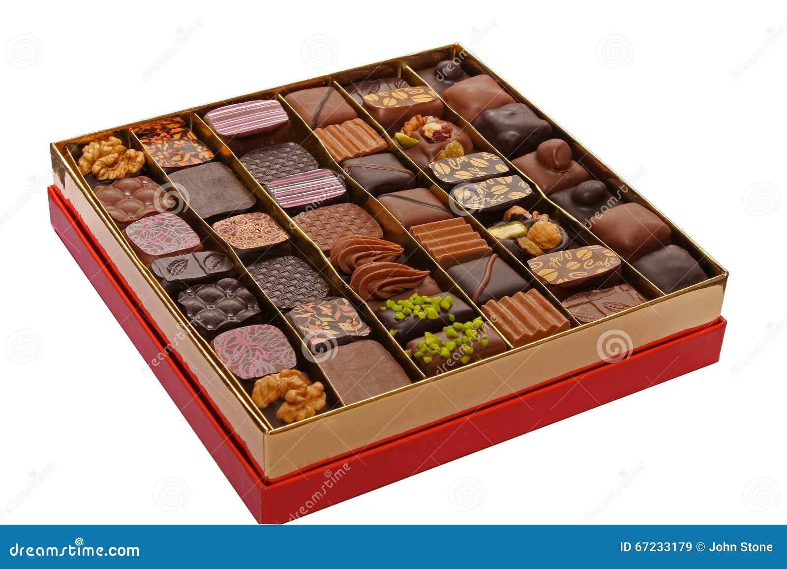 Scatola di cioccolato