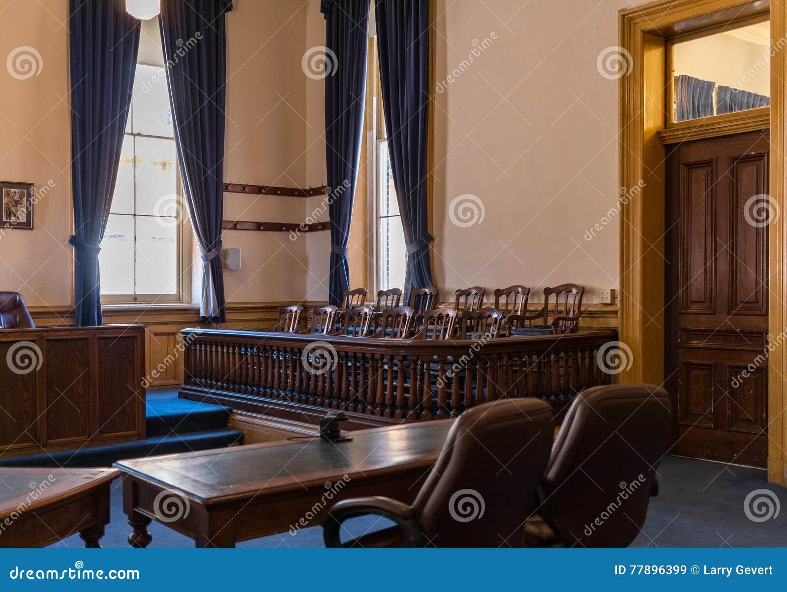 Scatola di giuria, Virginia City, tribunale del Nevada, la contea di Storey