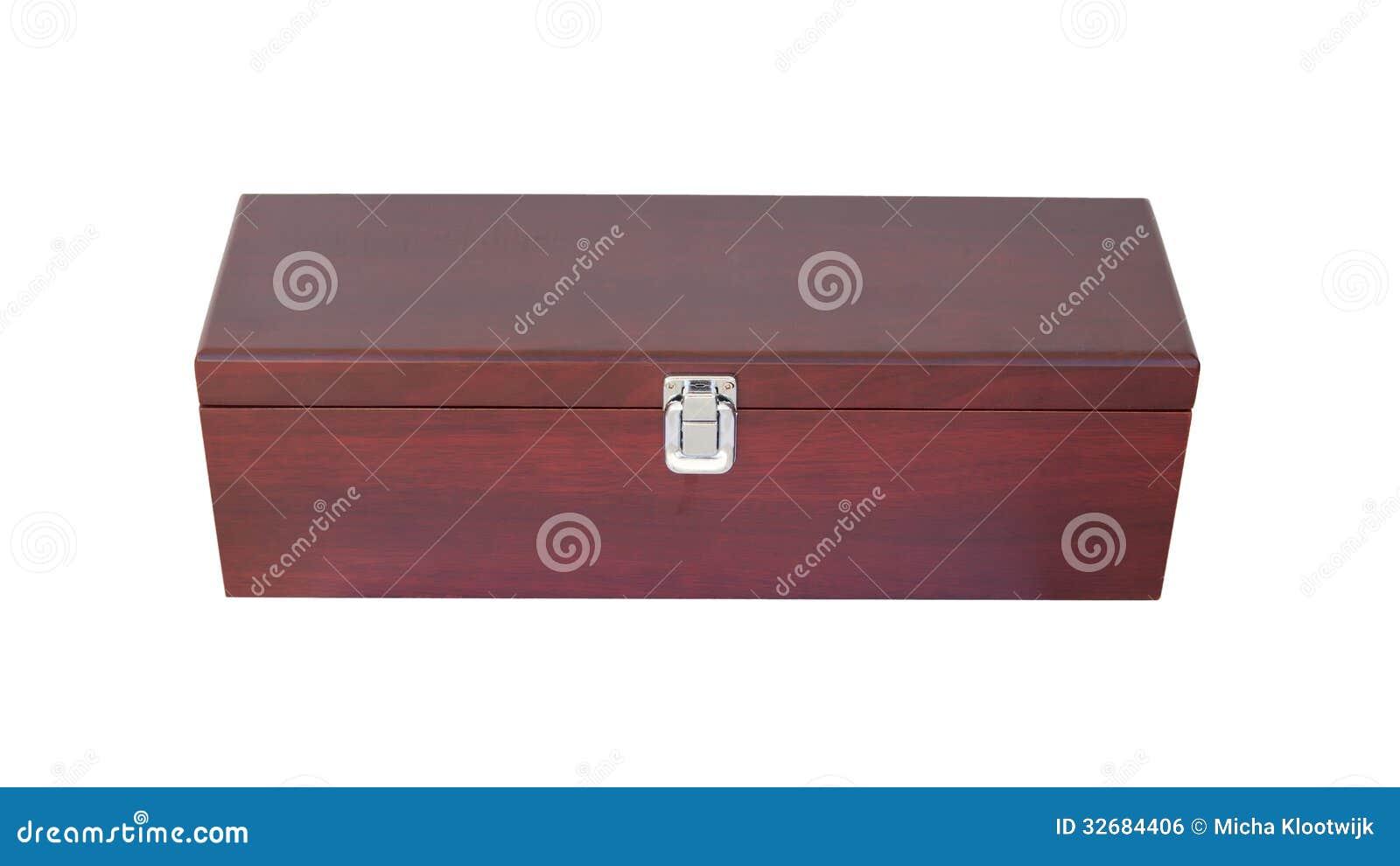 Scatola Di Legno Per La Bottiglia Di Vino Immagine Stock Libera da Diritti - Immagine: 32684406