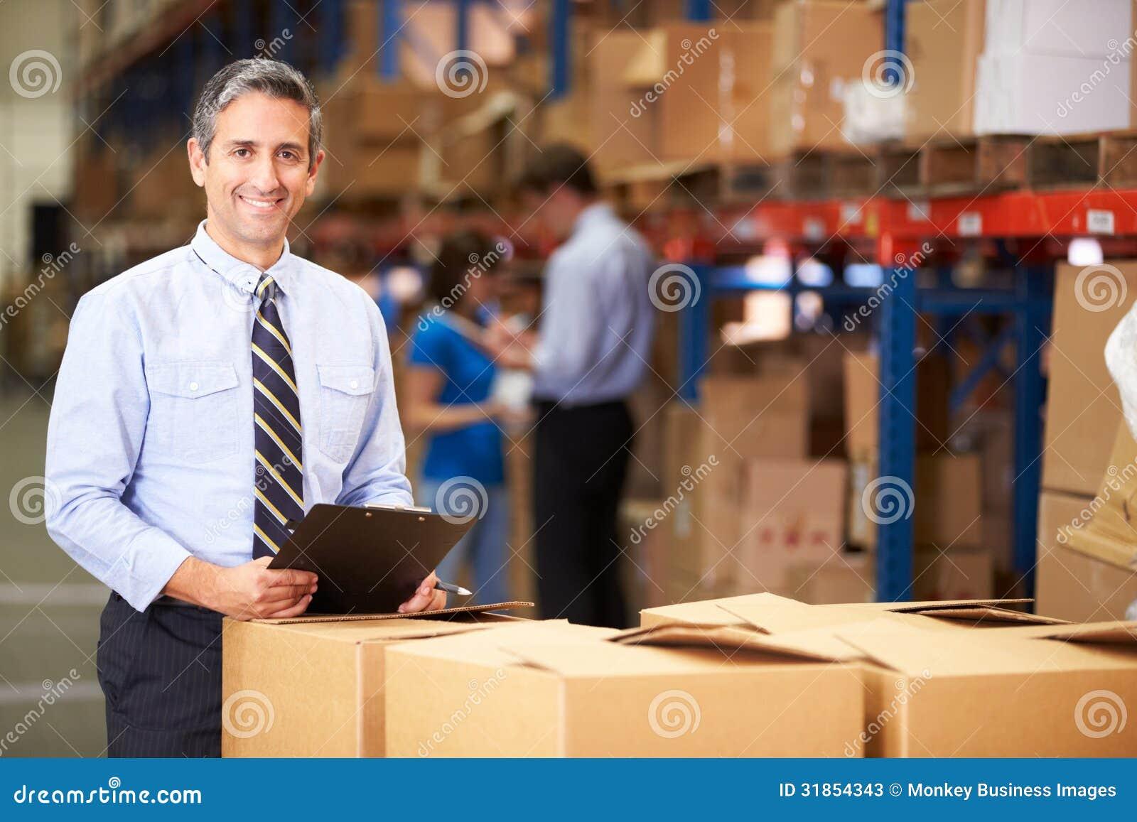 Scatole di In Warehouse Checking del responsabile
