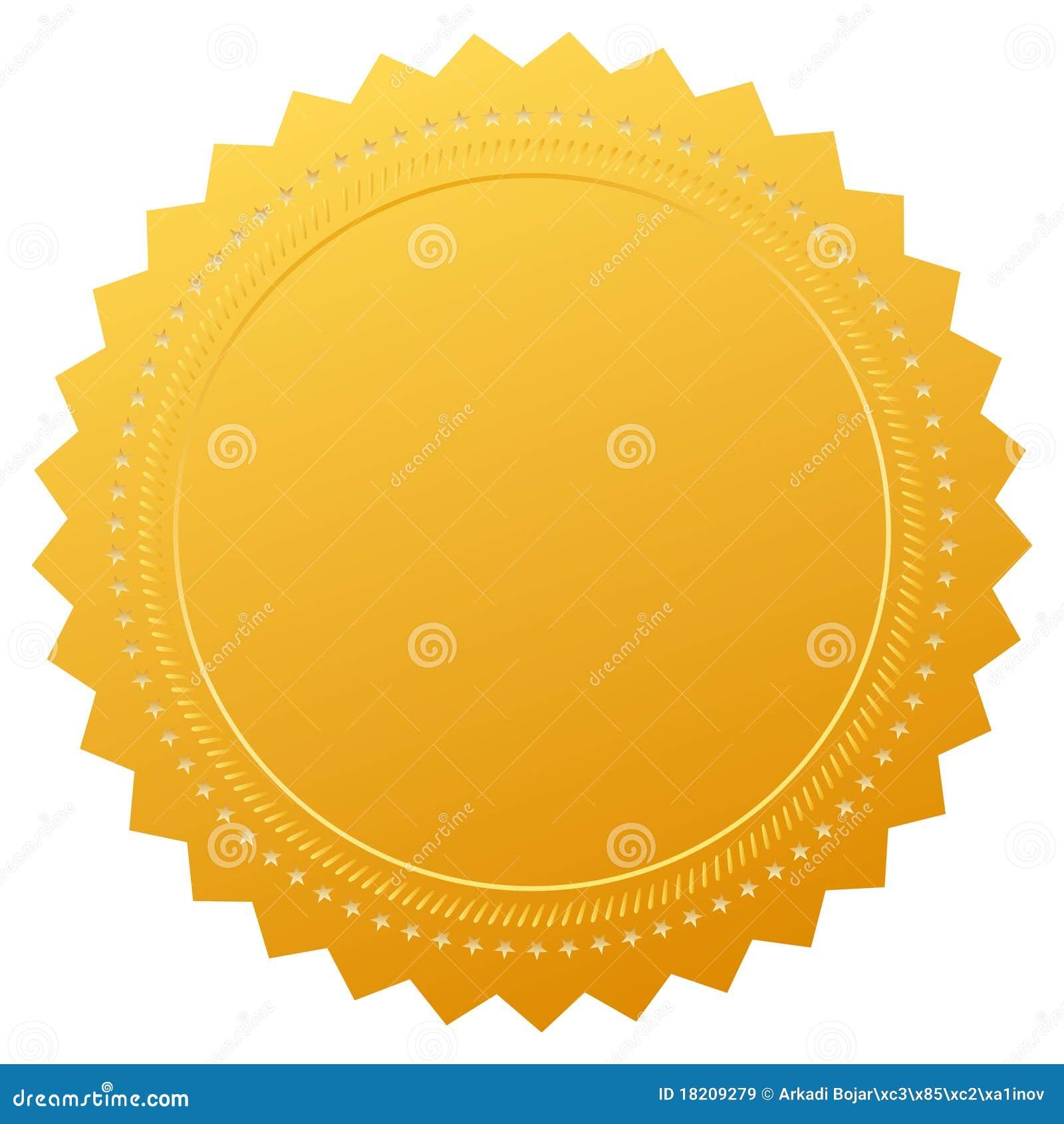sceau blanc de certificat de garantie images libres de droits image 18209279. Black Bedroom Furniture Sets. Home Design Ideas