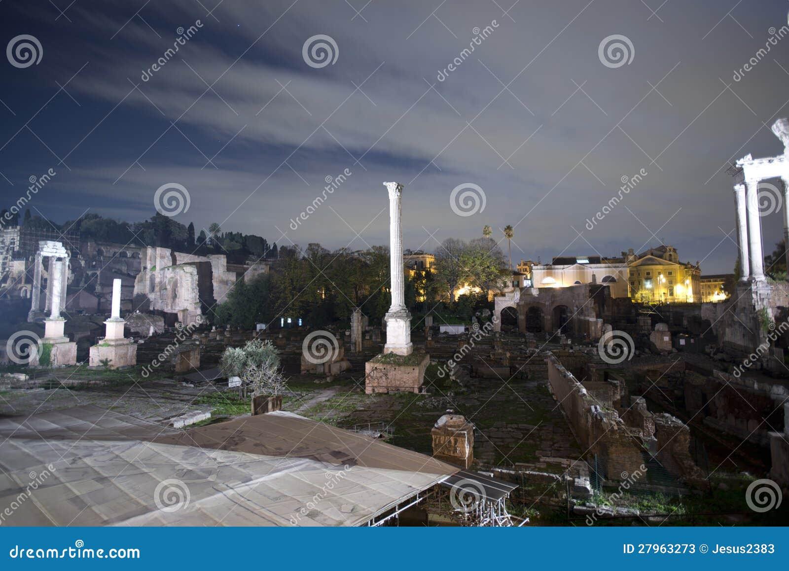 Sceau de fléau, forum romain