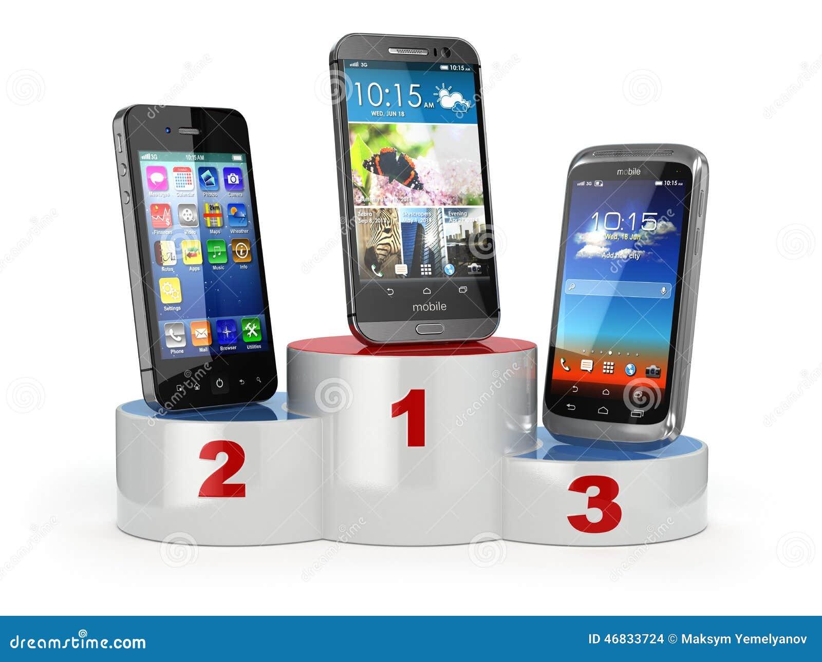Scelta dei telefoni cellulari di confronto o del cellulare for I migliori telefoni
