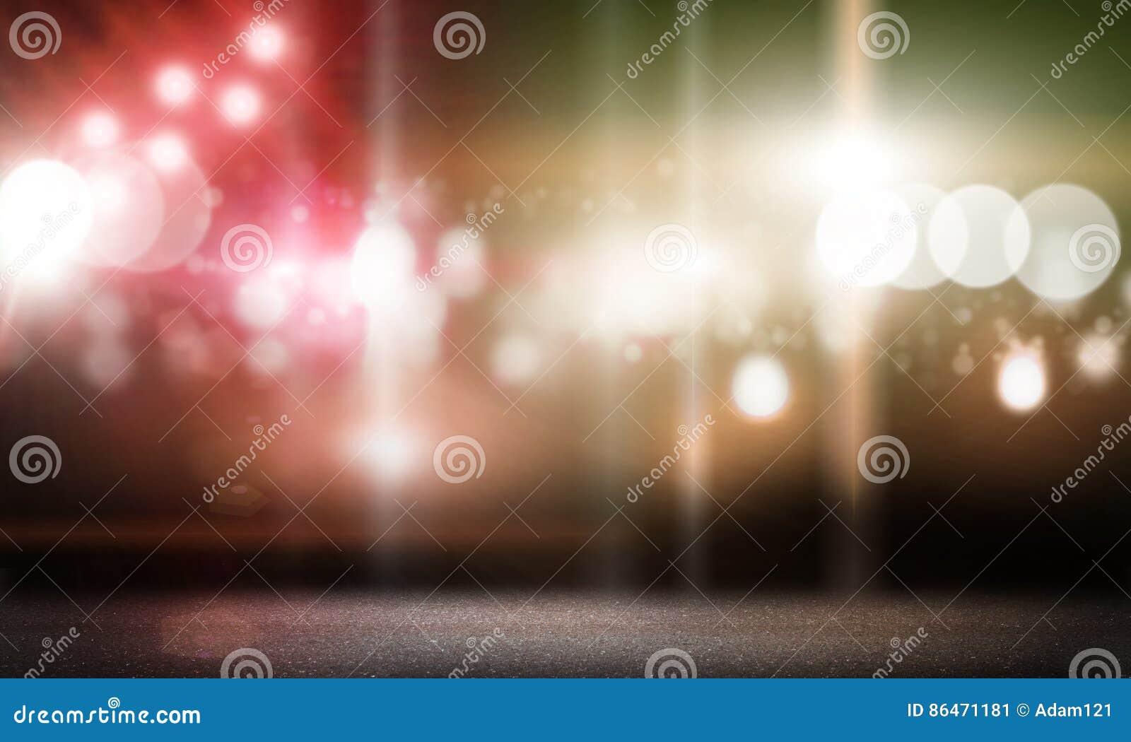Scen światła