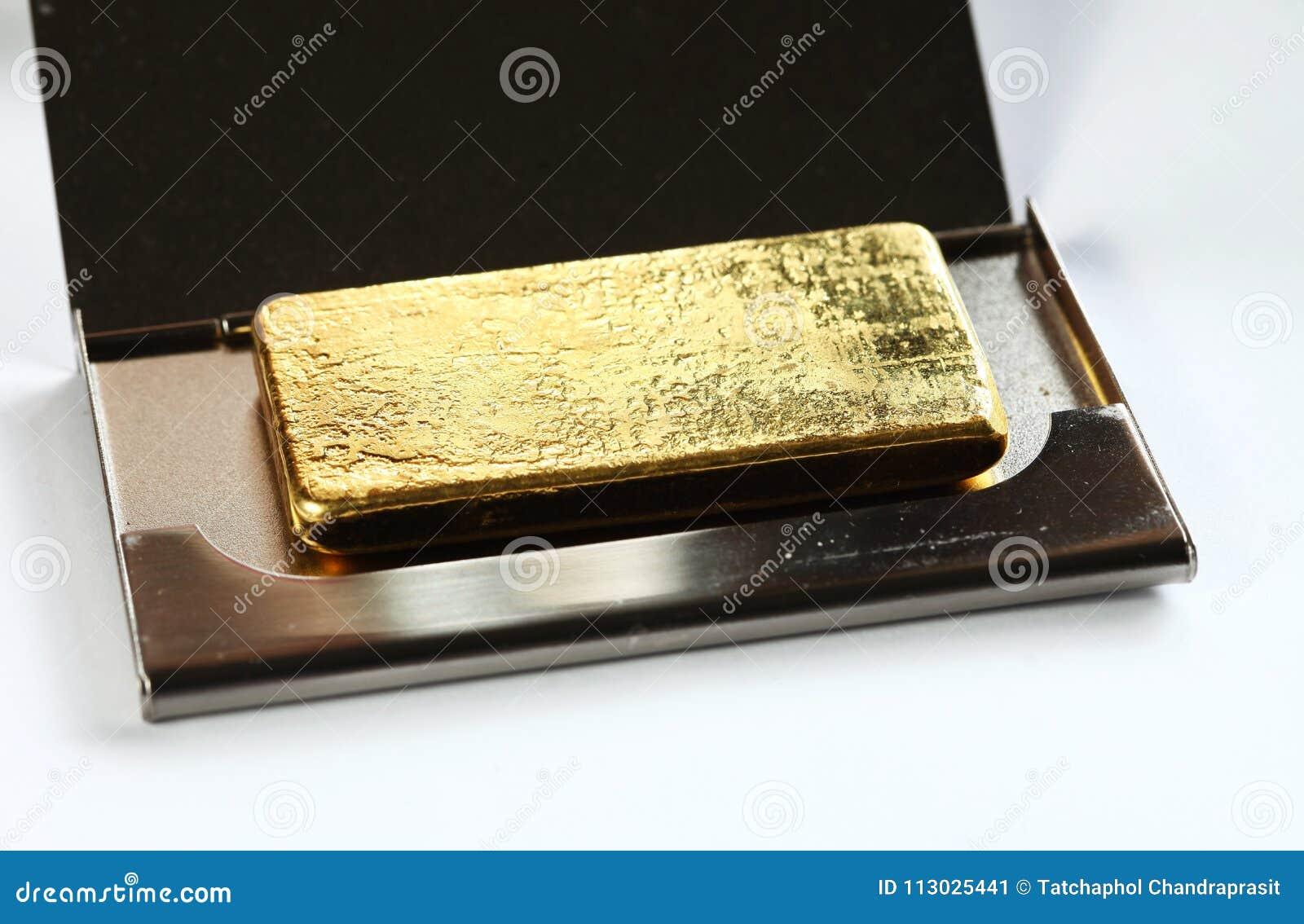 Scena della barra di oro