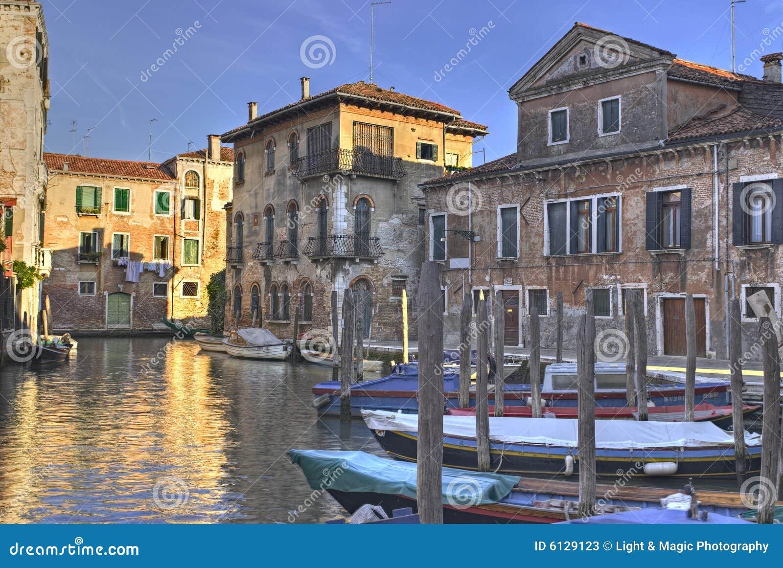 Scena della città di Venezia