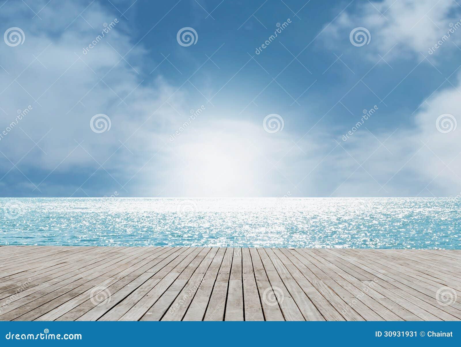 Scena della spiaggia