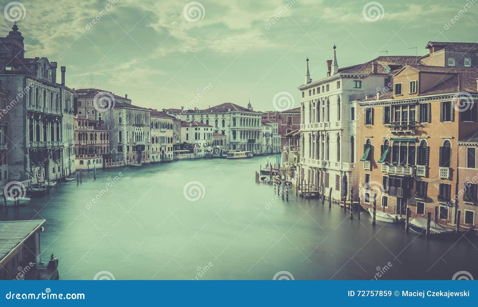 Scena di Grand Canal, Venezia