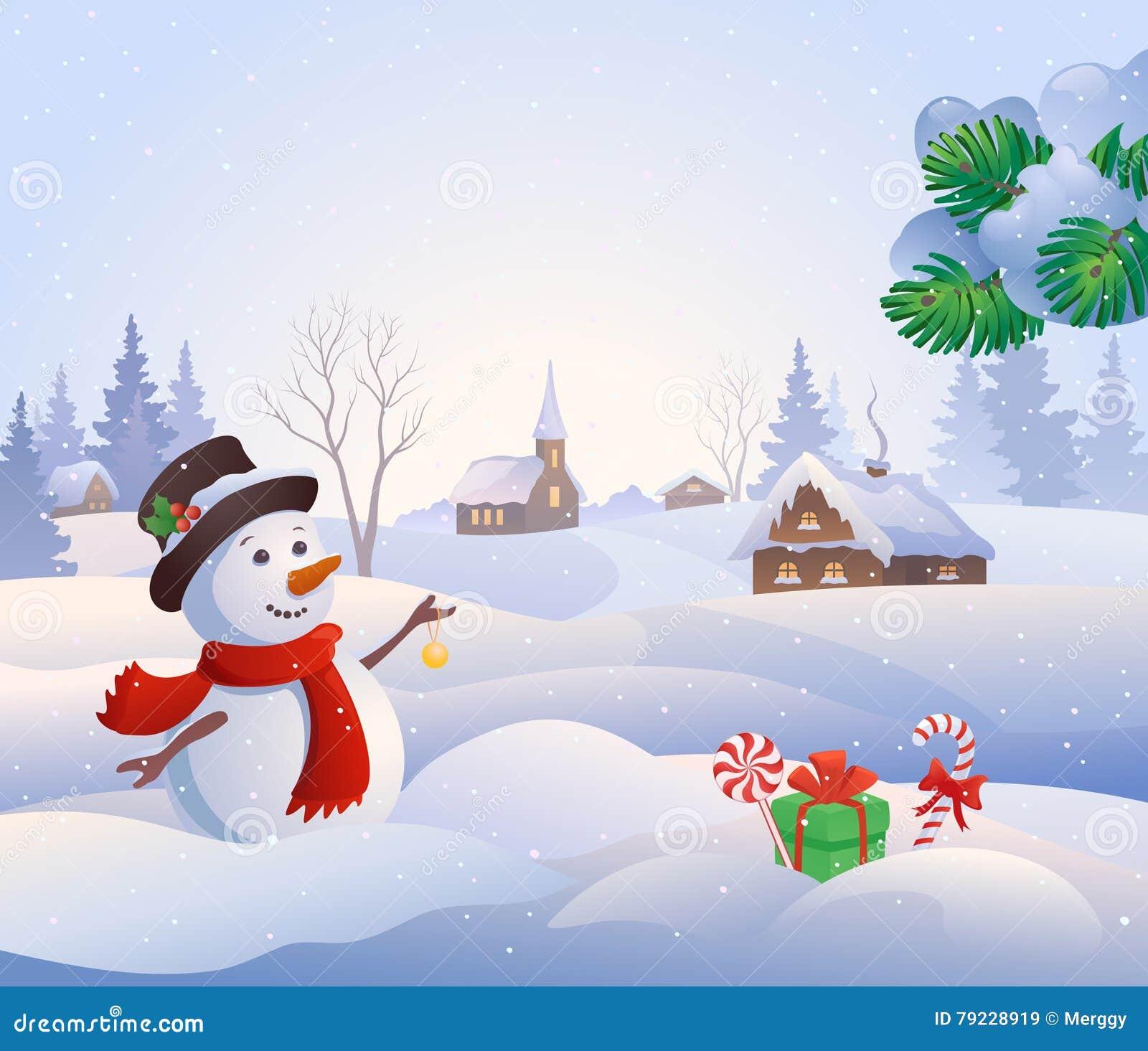 Scena di Snowy