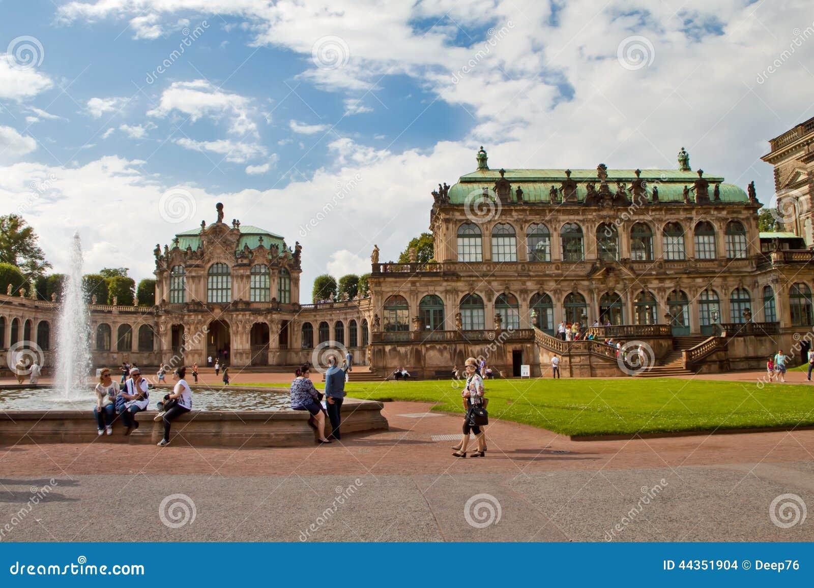 Scena a Dresda, Germania
