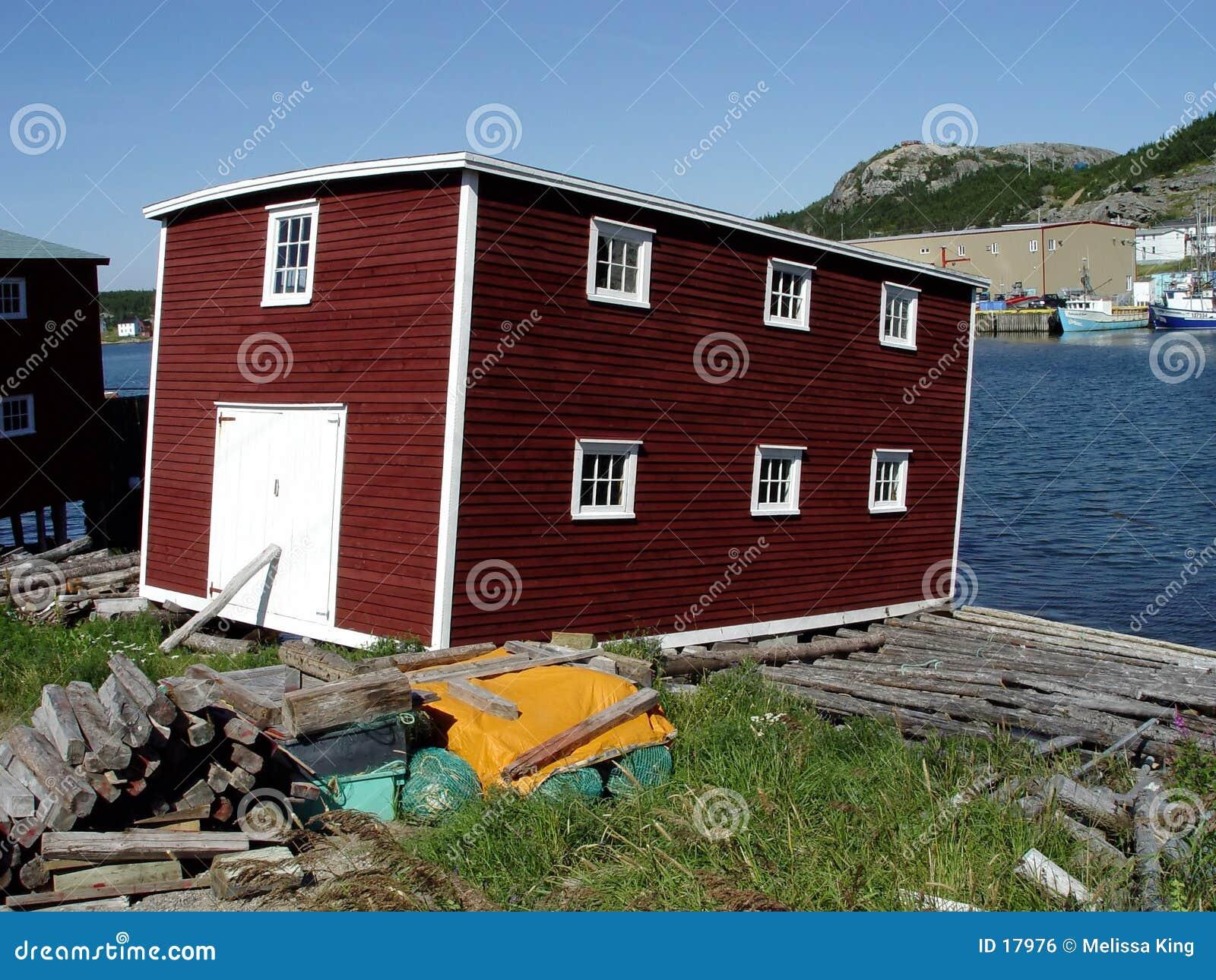 Scena Newfoundland połowów