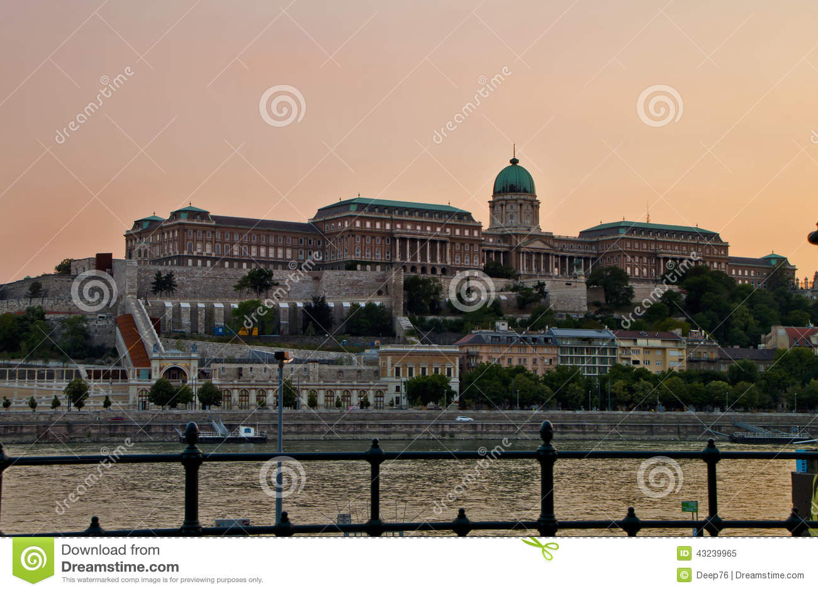 Scene in , Budapest Hungary