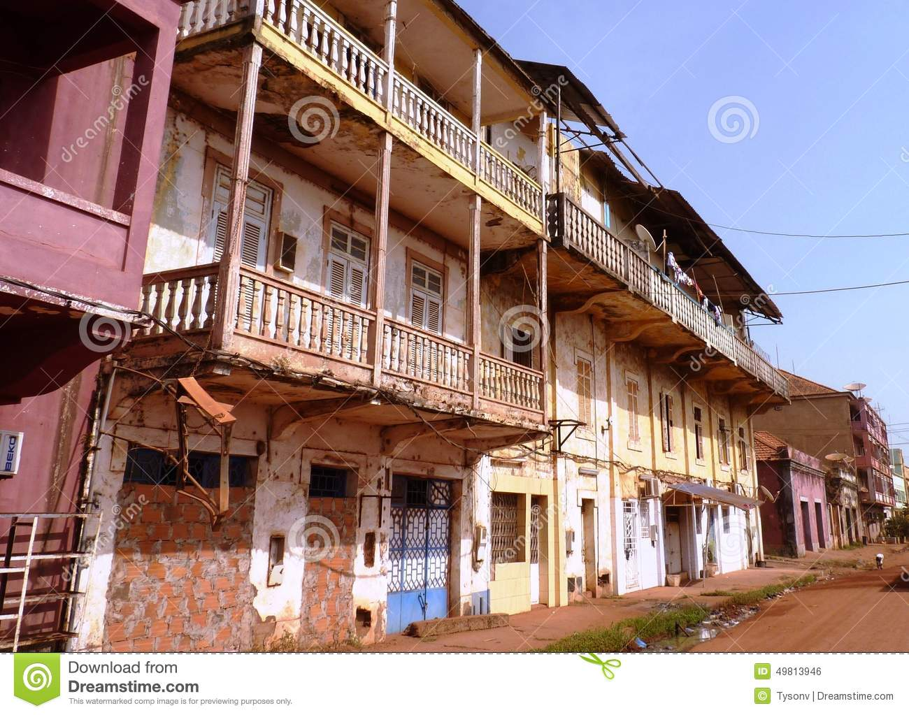 Download Scene from Guinea-Bissau editorial photo. Image of beautiful - 49813946