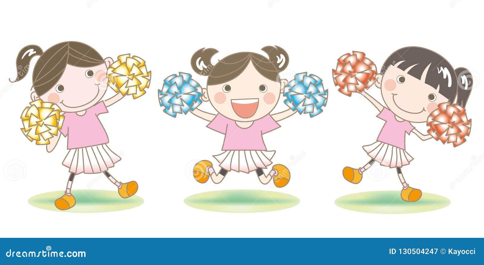Cheerleader`s support image