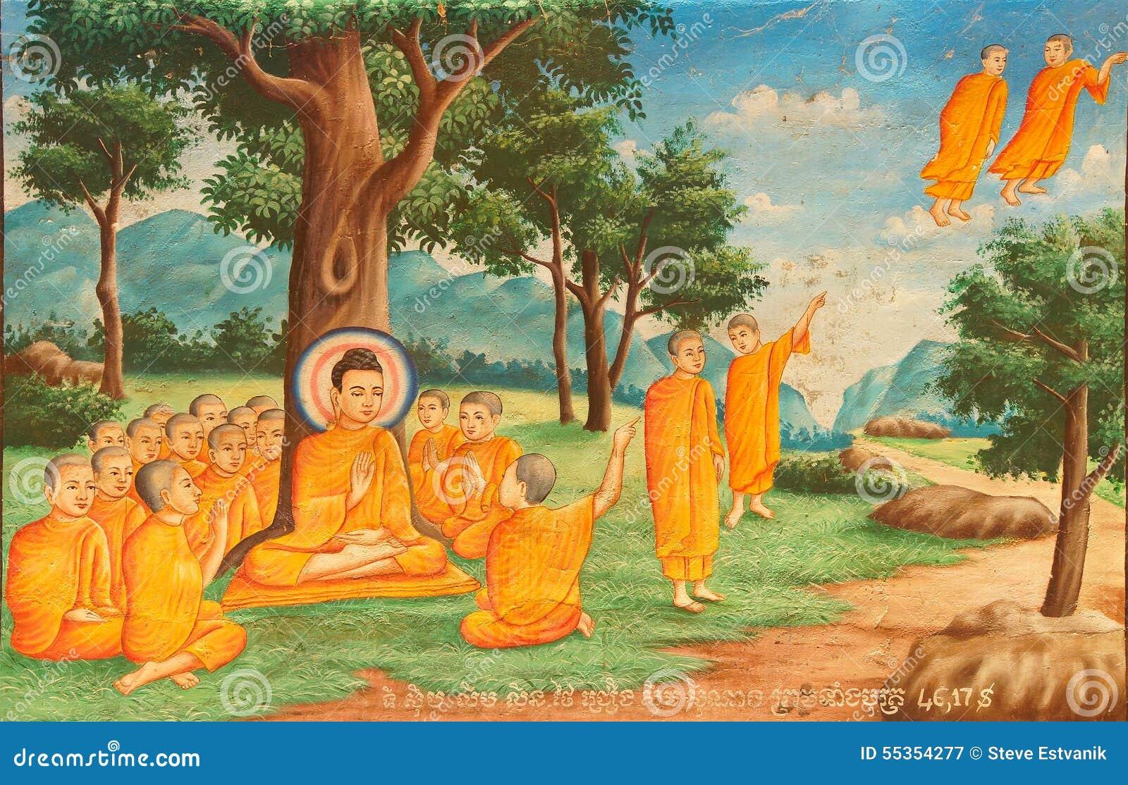 Scene a partire dalla vita di Buddha