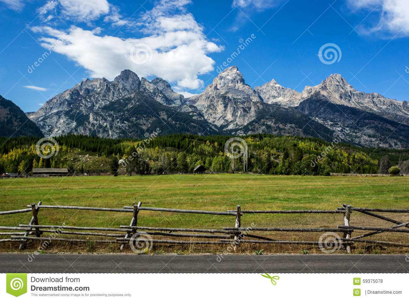 Scenery of the American West