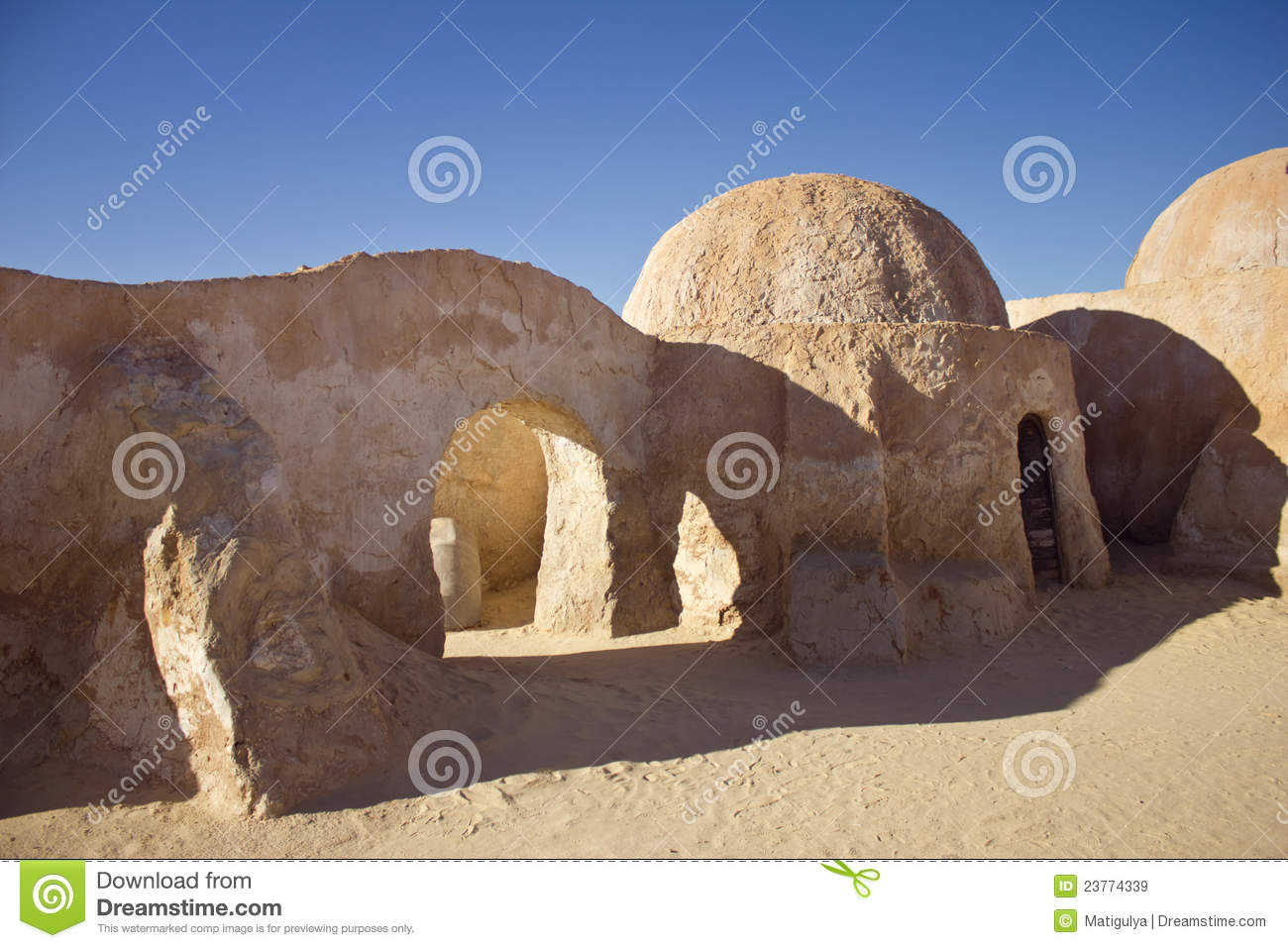 The Scenery For Star Wars 4 Royalty Free Stock Images