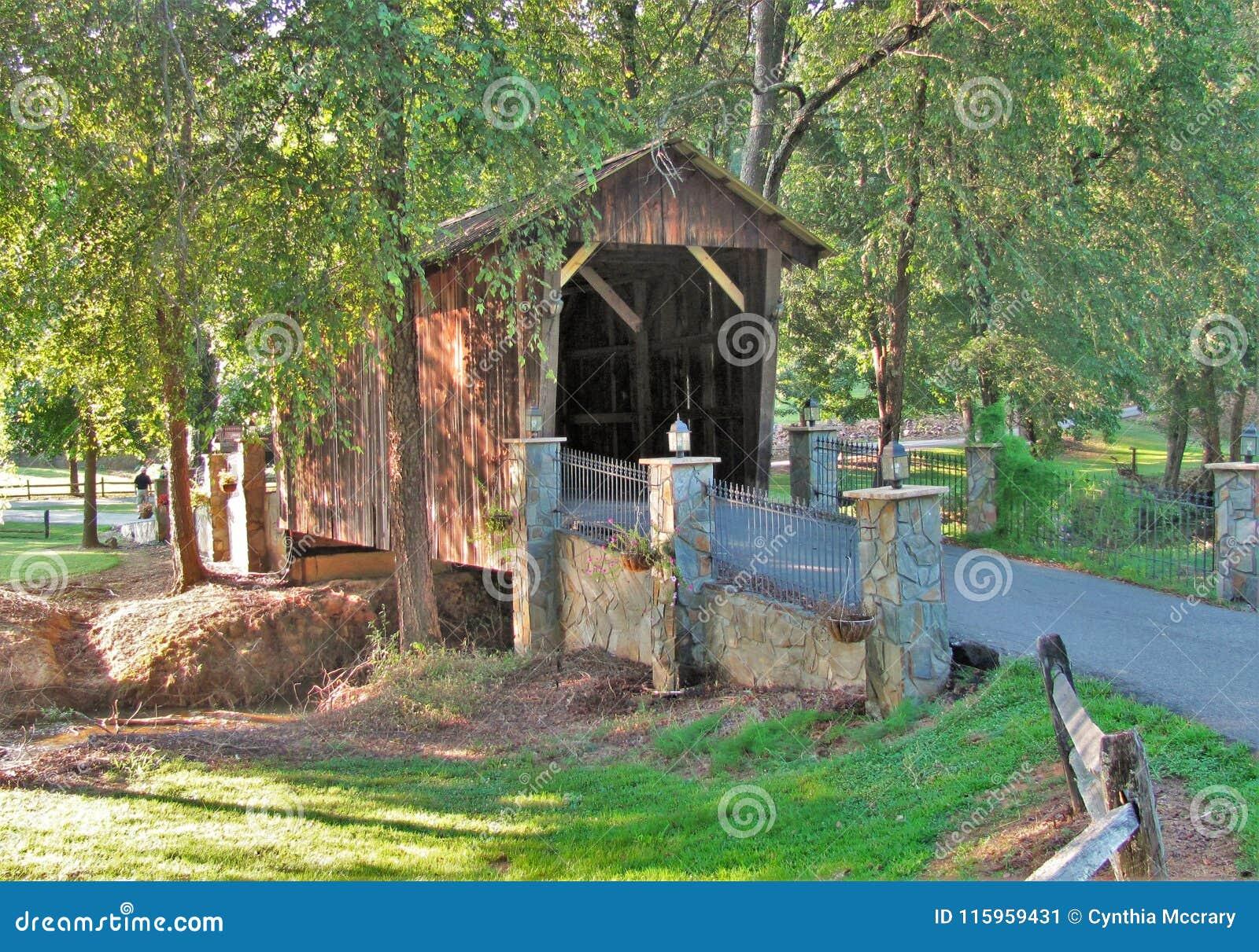 Covered Bridge at Cody Creek