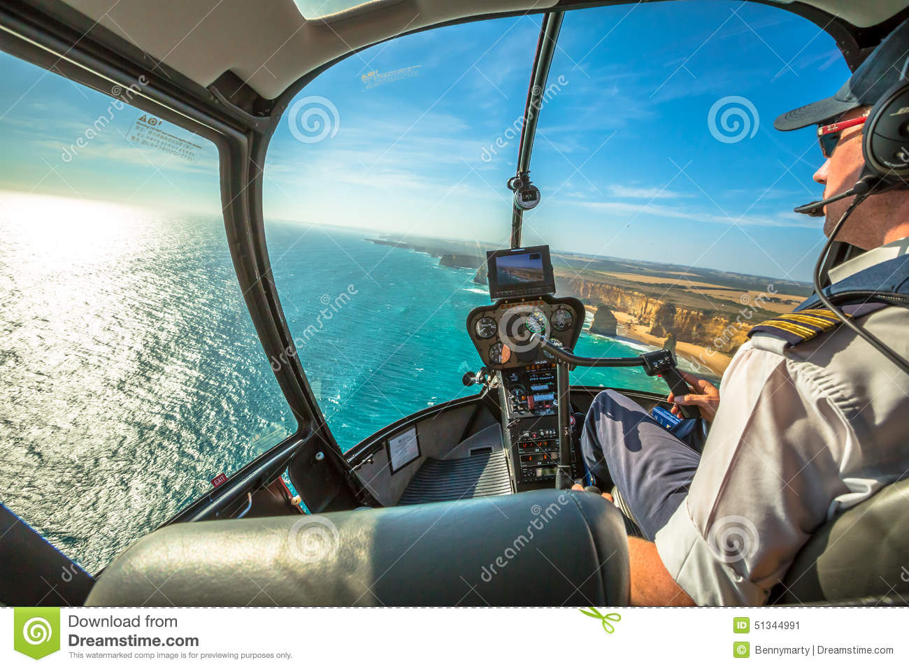 Twelve Apostles Scenic Flight Editorial Photo  Image 51344991