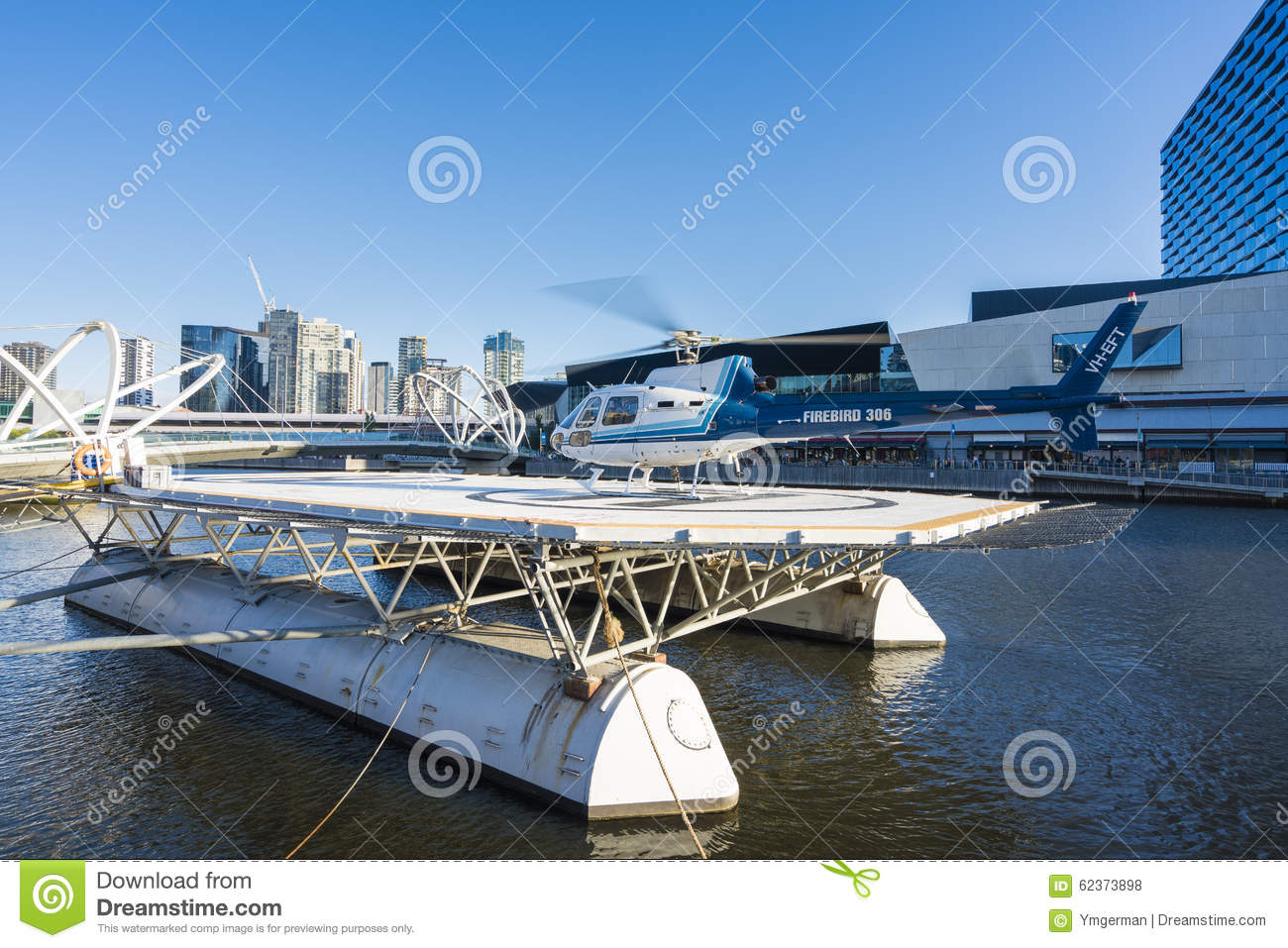 Scenic Helicopter Tour In Melbourne Australia Editorial Stock Photo  Image