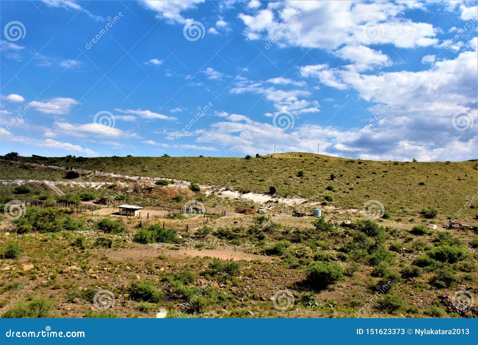Landscape scenery Jerome and Phoenix, Maricopa County, Arizona, United States