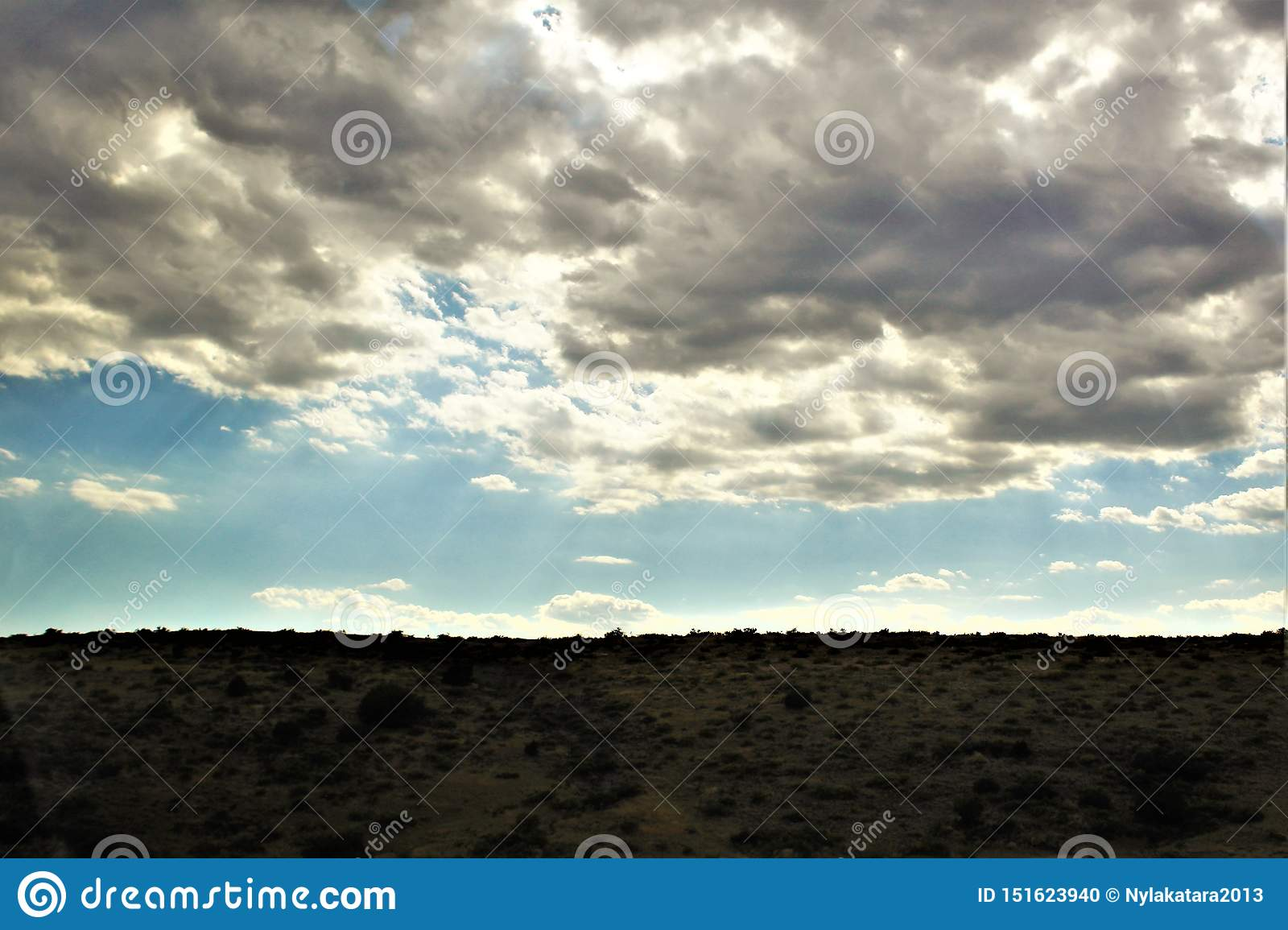 Landscape scenery Jerome and Phoenix, Maricopa County, Arizona, United States