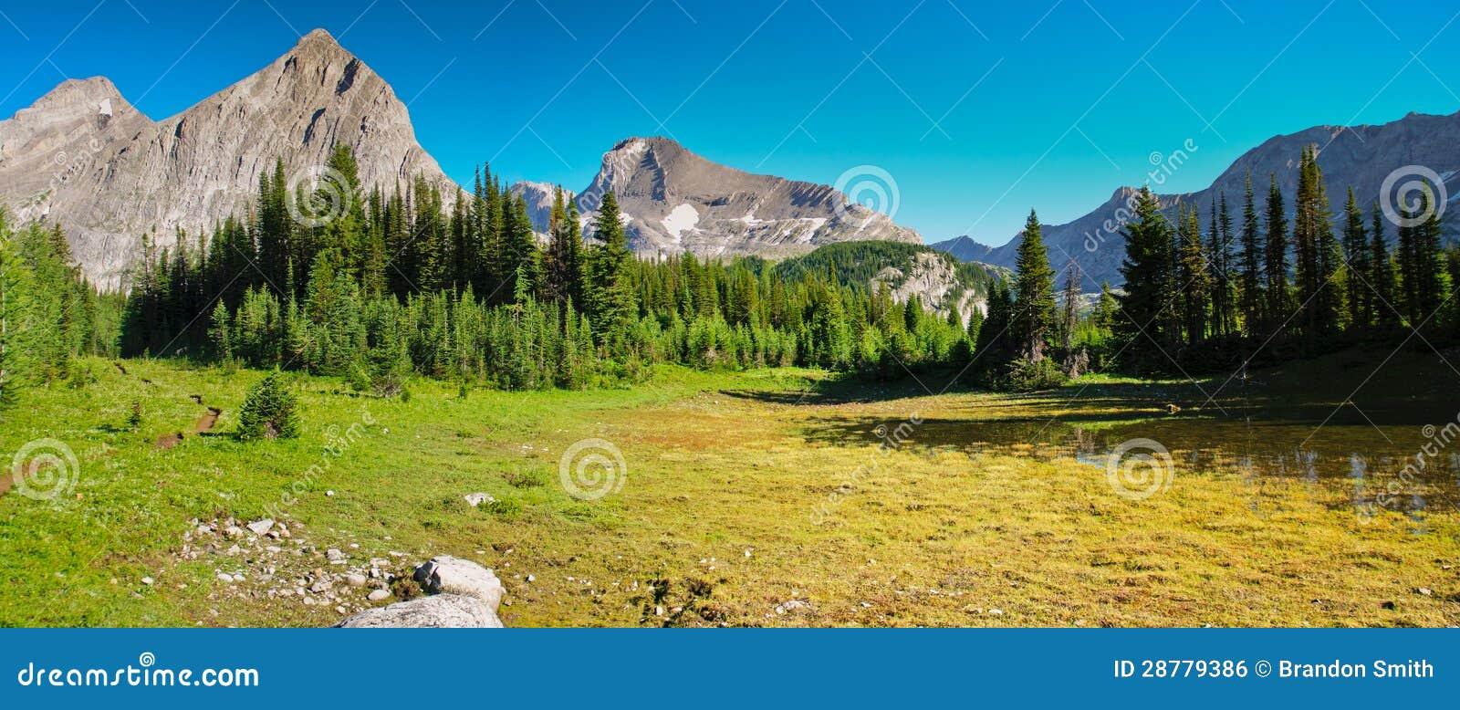 ... Stock Image: Scenic Mountain Views Kananaskis Country Alberta Canada