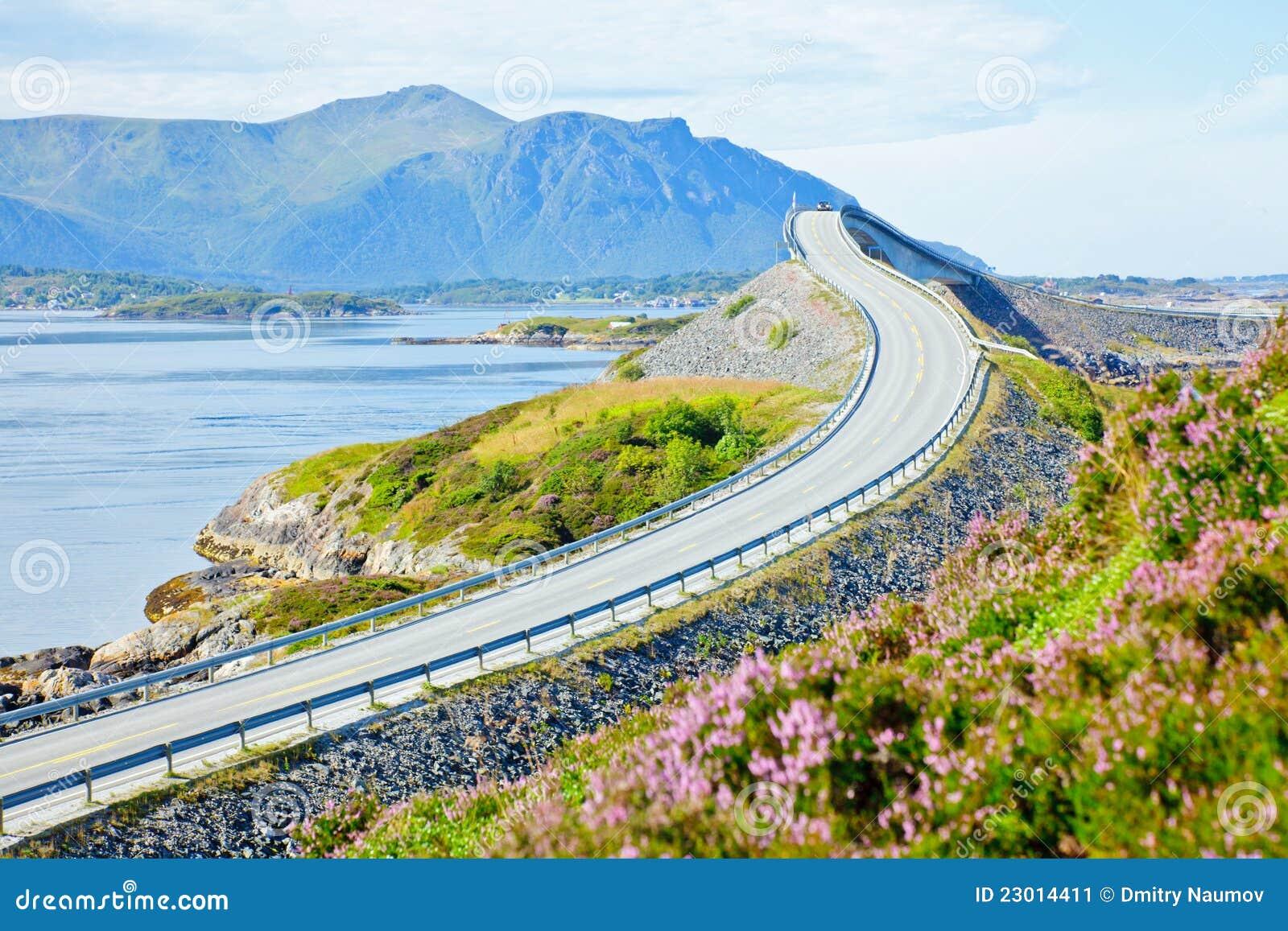 Download Scenic ocean road stock image. Image of lane, popular - 23014411
