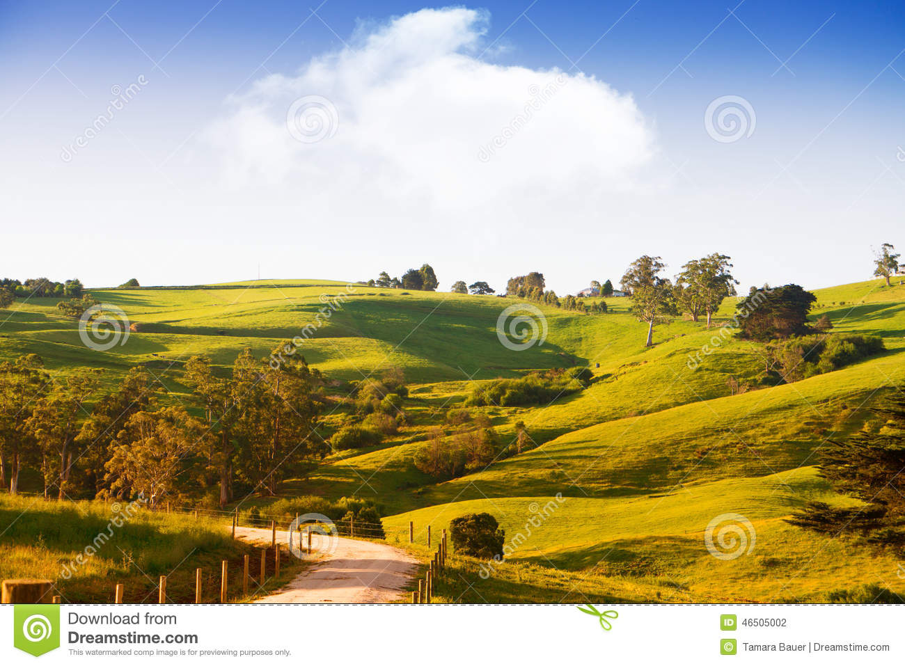 Scenic rural australia stock photo image 46505002 for Landscapers adelaide south
