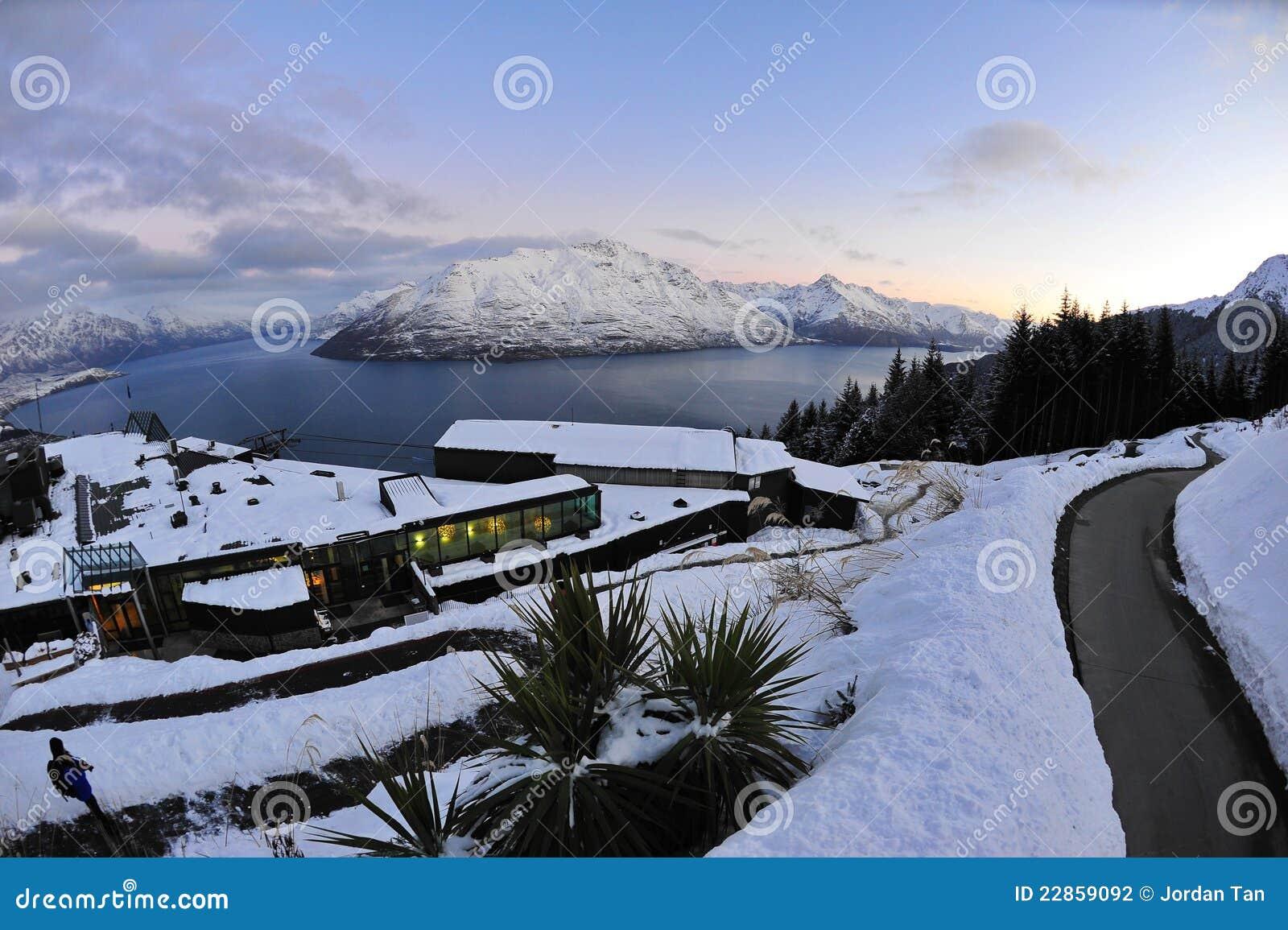 South Island Snow