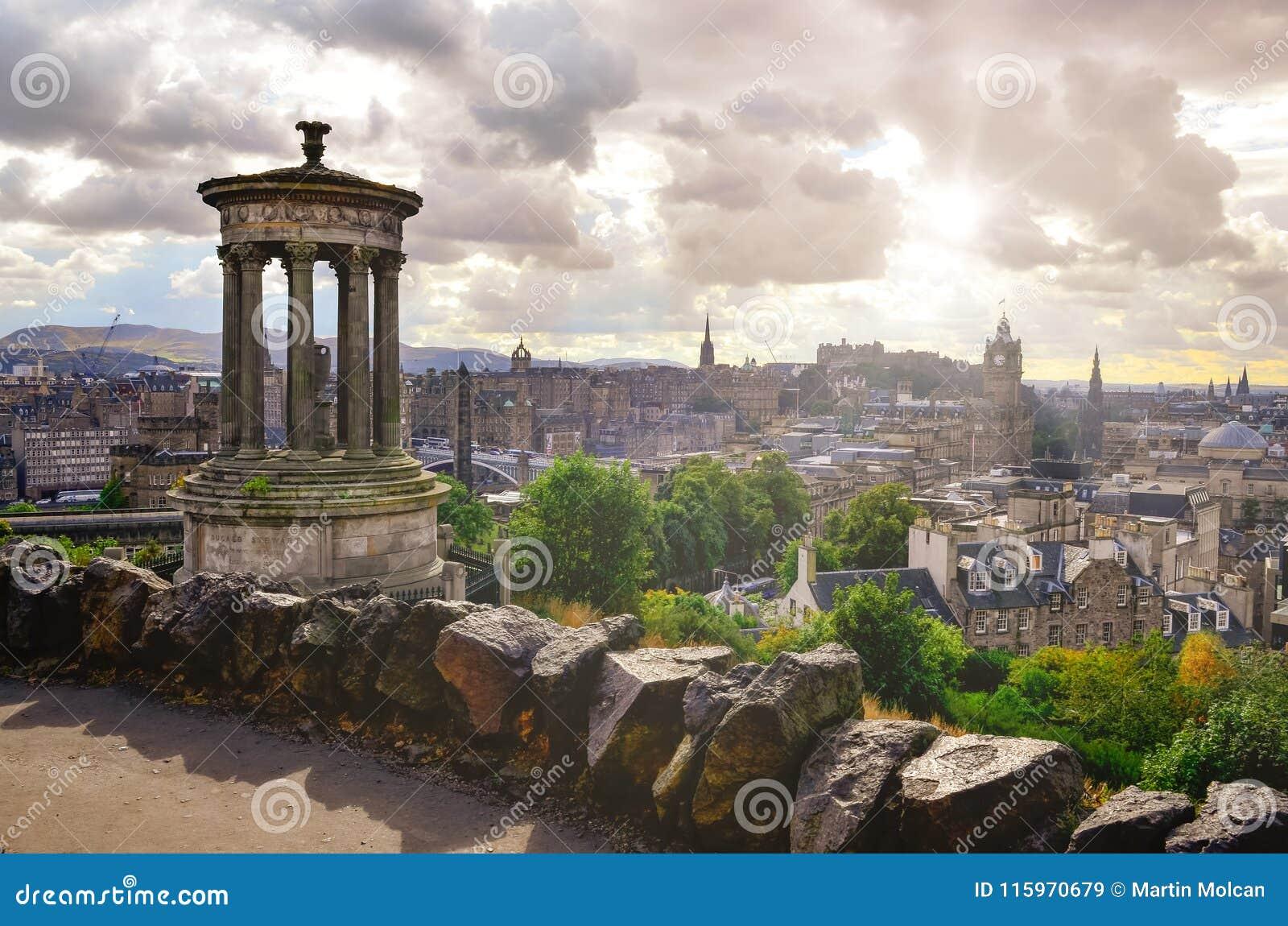 8916c6c87786 Scenic View Of Edinburgh Skyline
