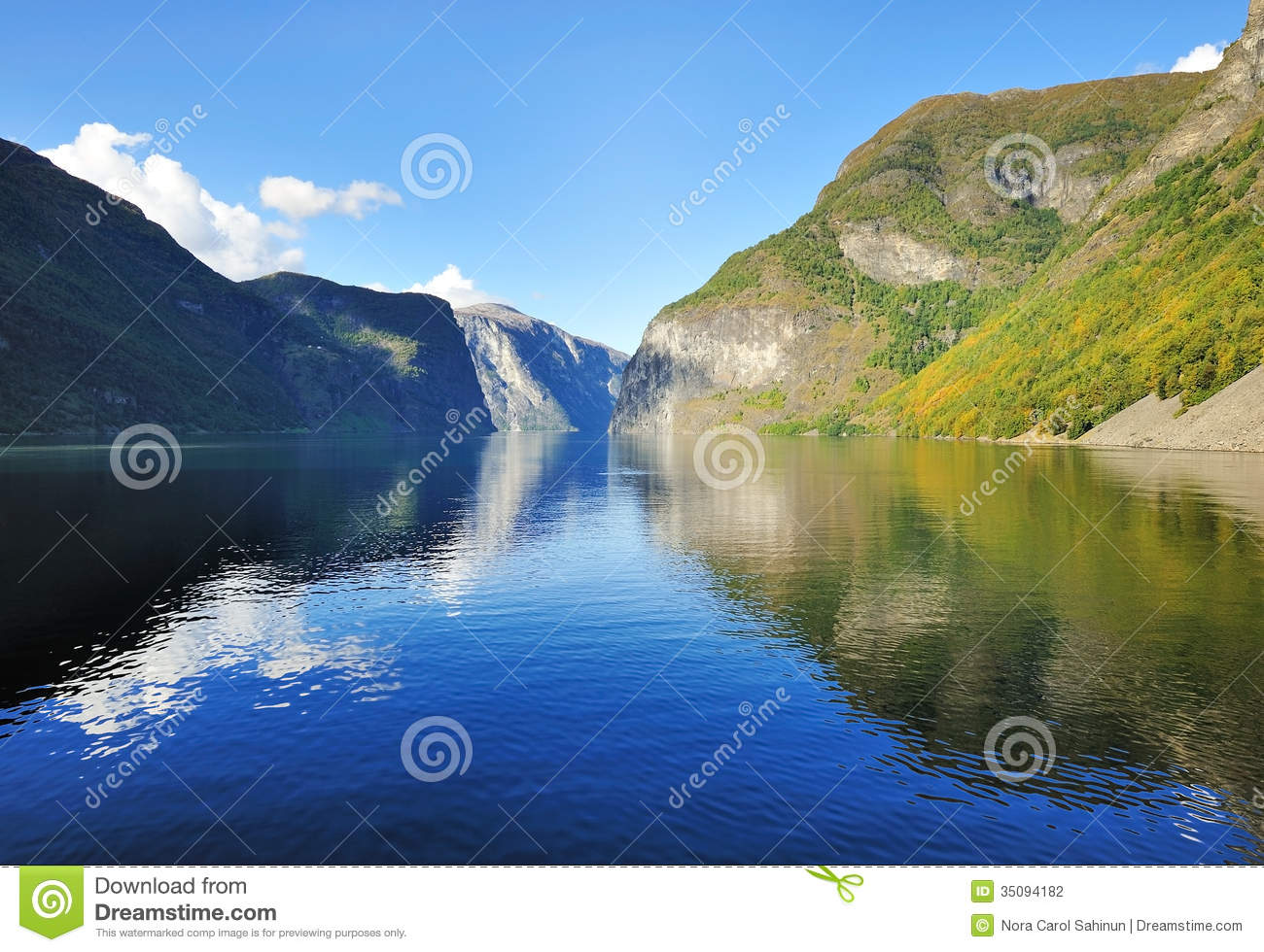 Scenic view of norway royalty free stock photography 34213331 - The house on the rock the ultimate refuge in a norwegian fjord ...