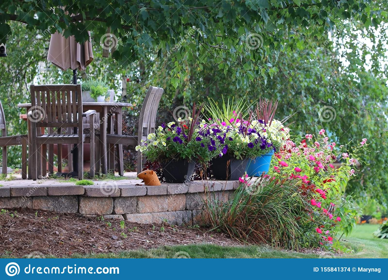Seasonal Private House Outdoor Decoration Stock Photo Image Of