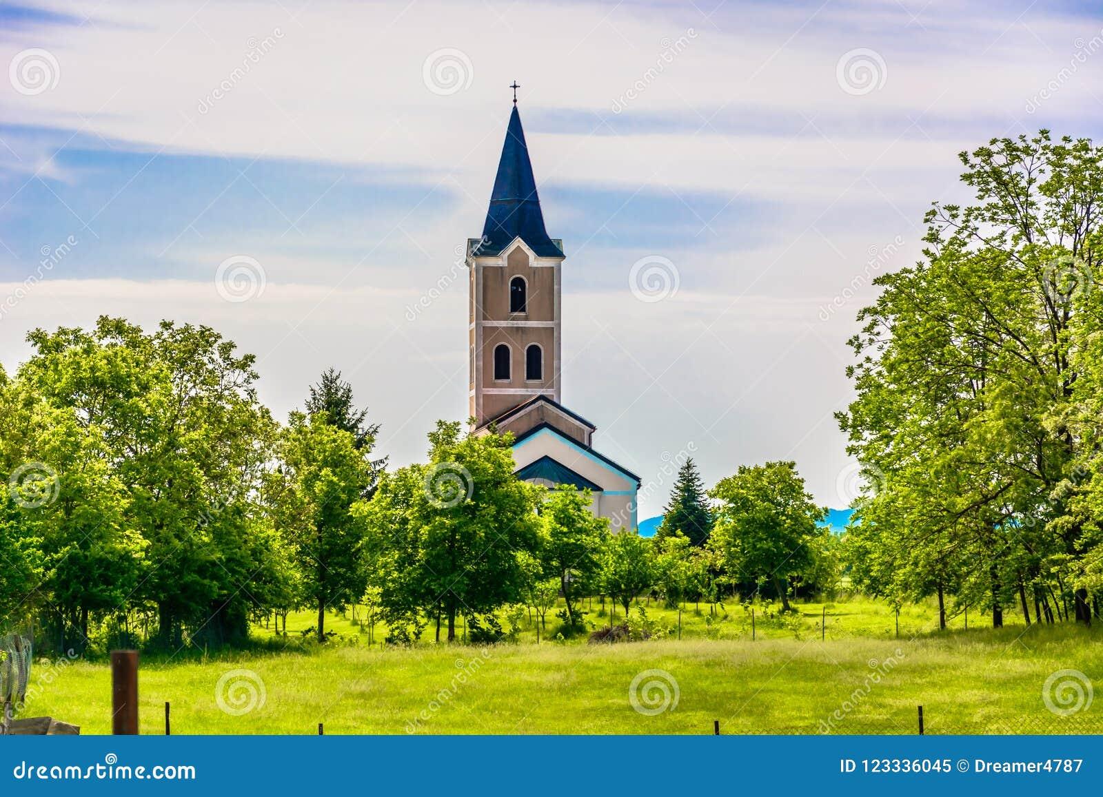 Small chapel in Croatia, Zagorje.