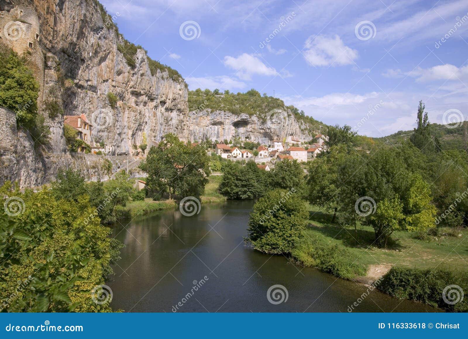 Sceniczny Francja, udział, Cabrerets