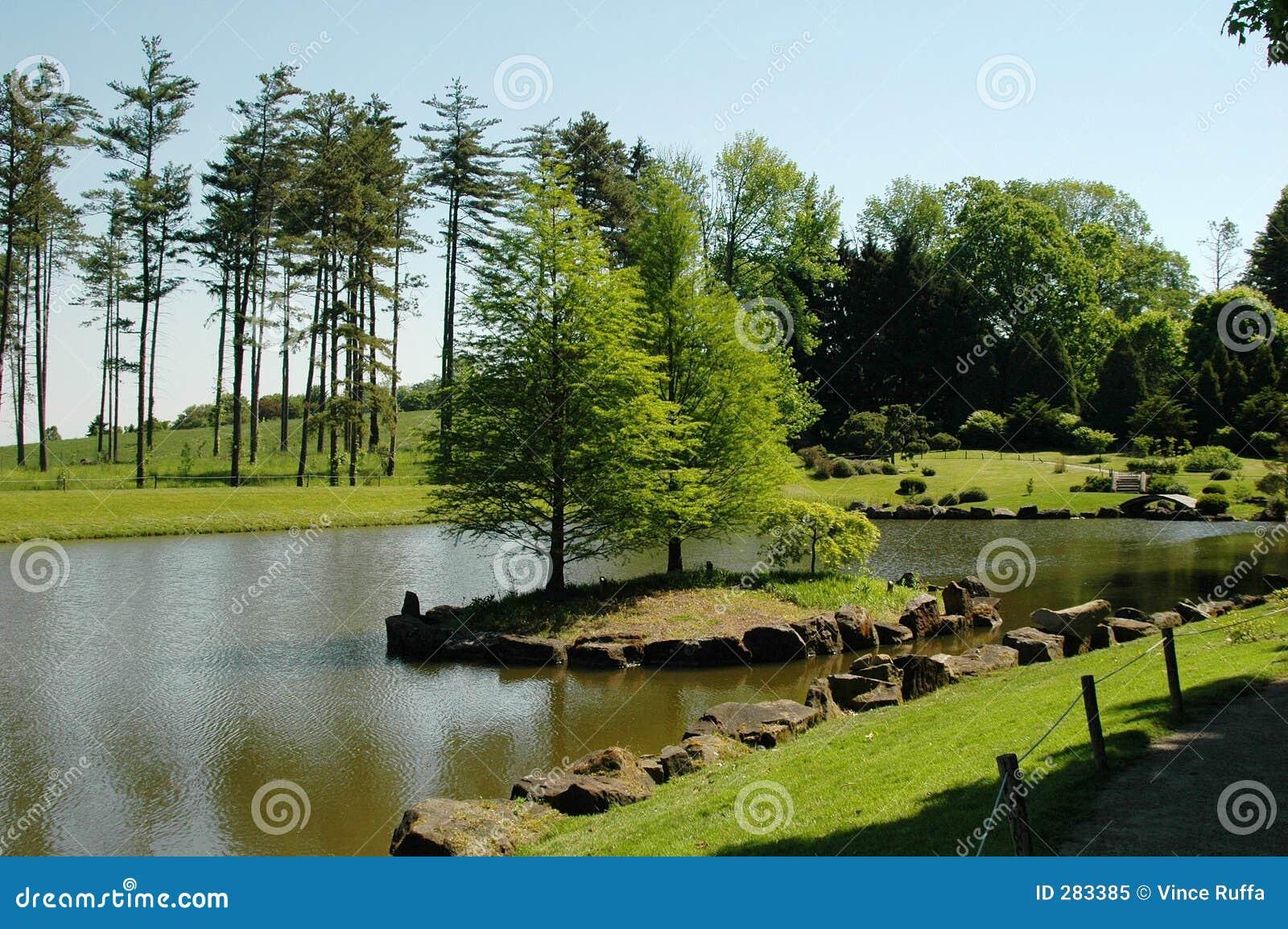 Scenisk lake