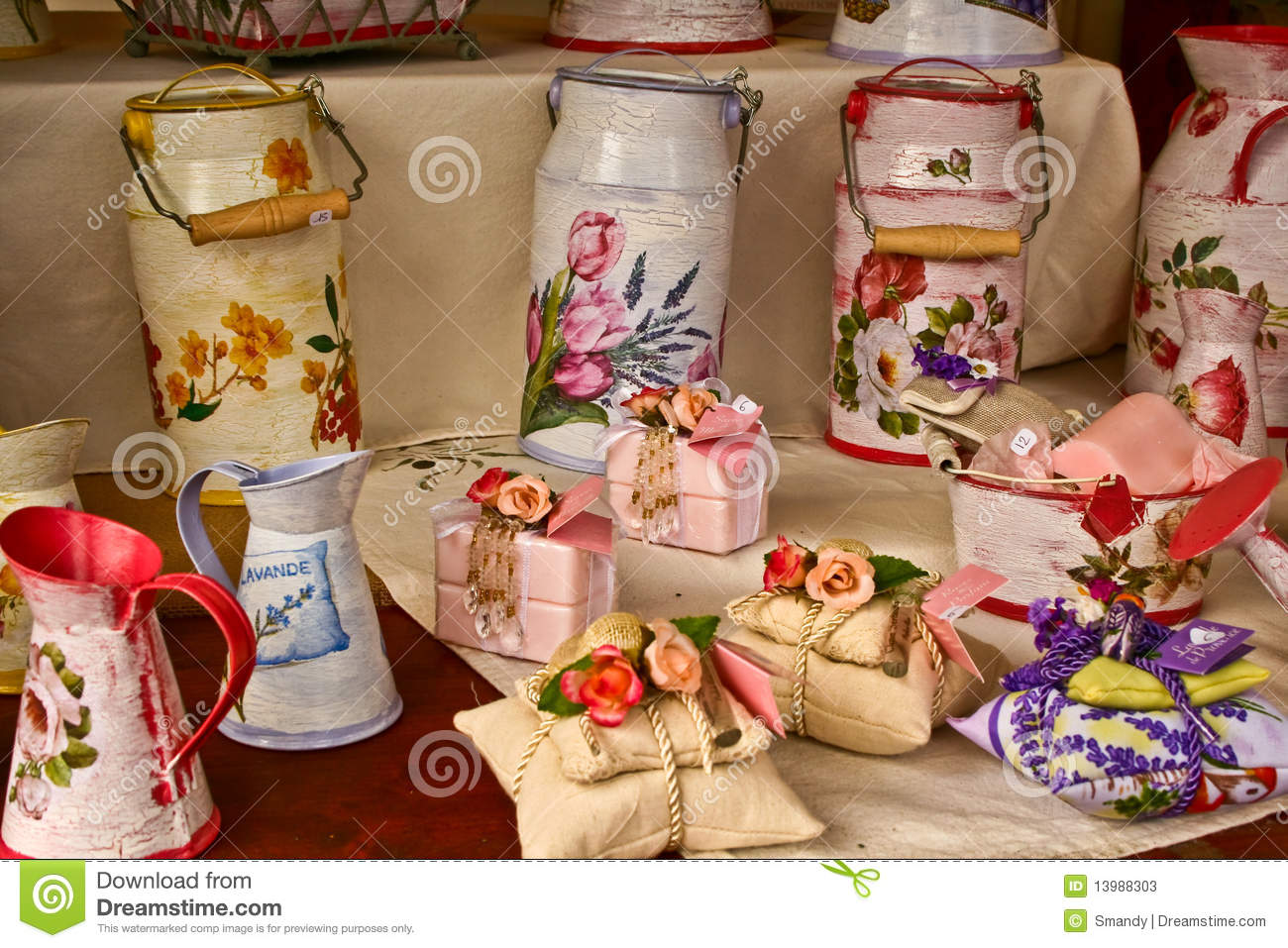 scented sachets with rose and lavender soap stock image image 13988303. Black Bedroom Furniture Sets. Home Design Ideas