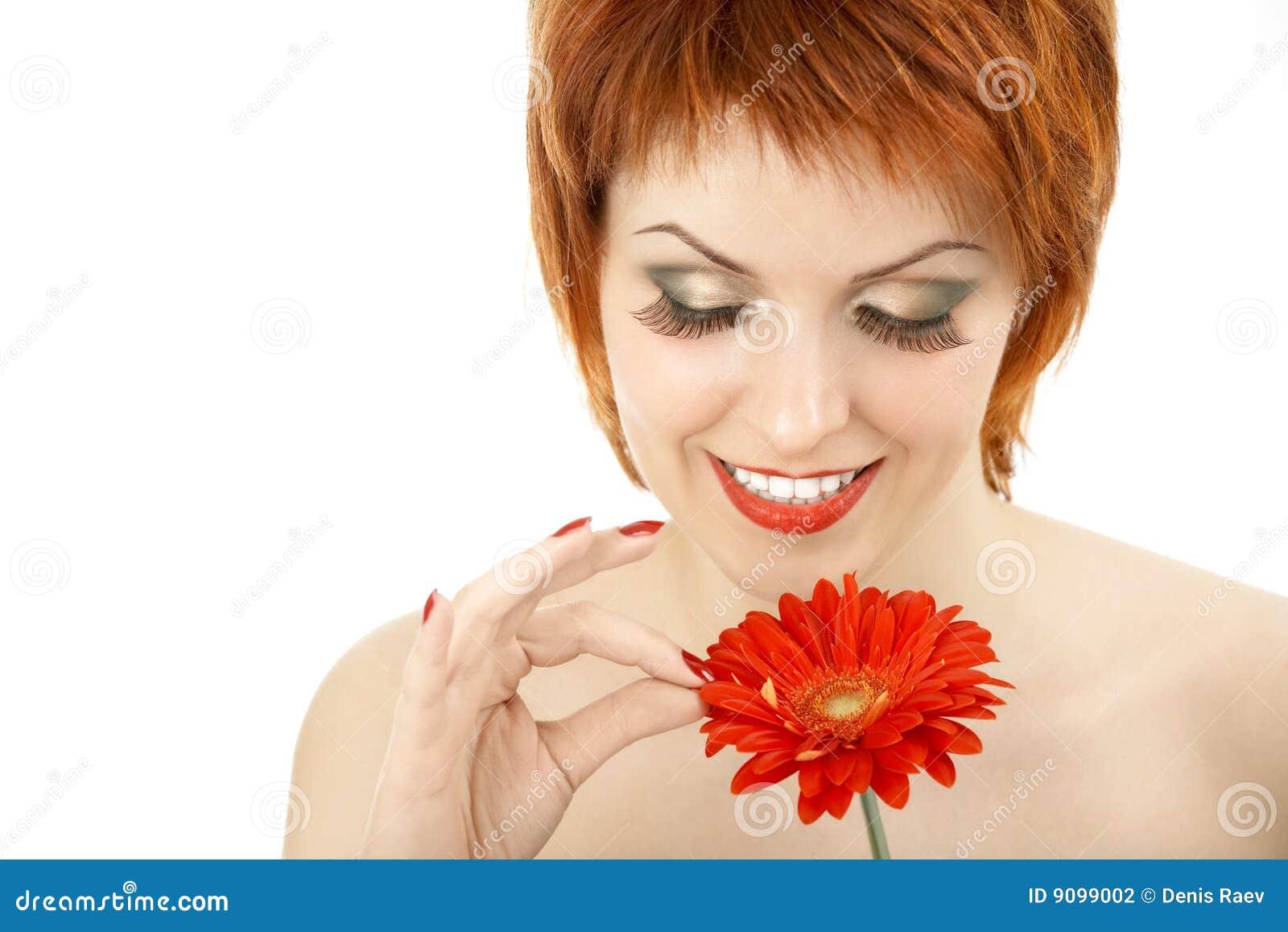 Schätzen auf einer Blume