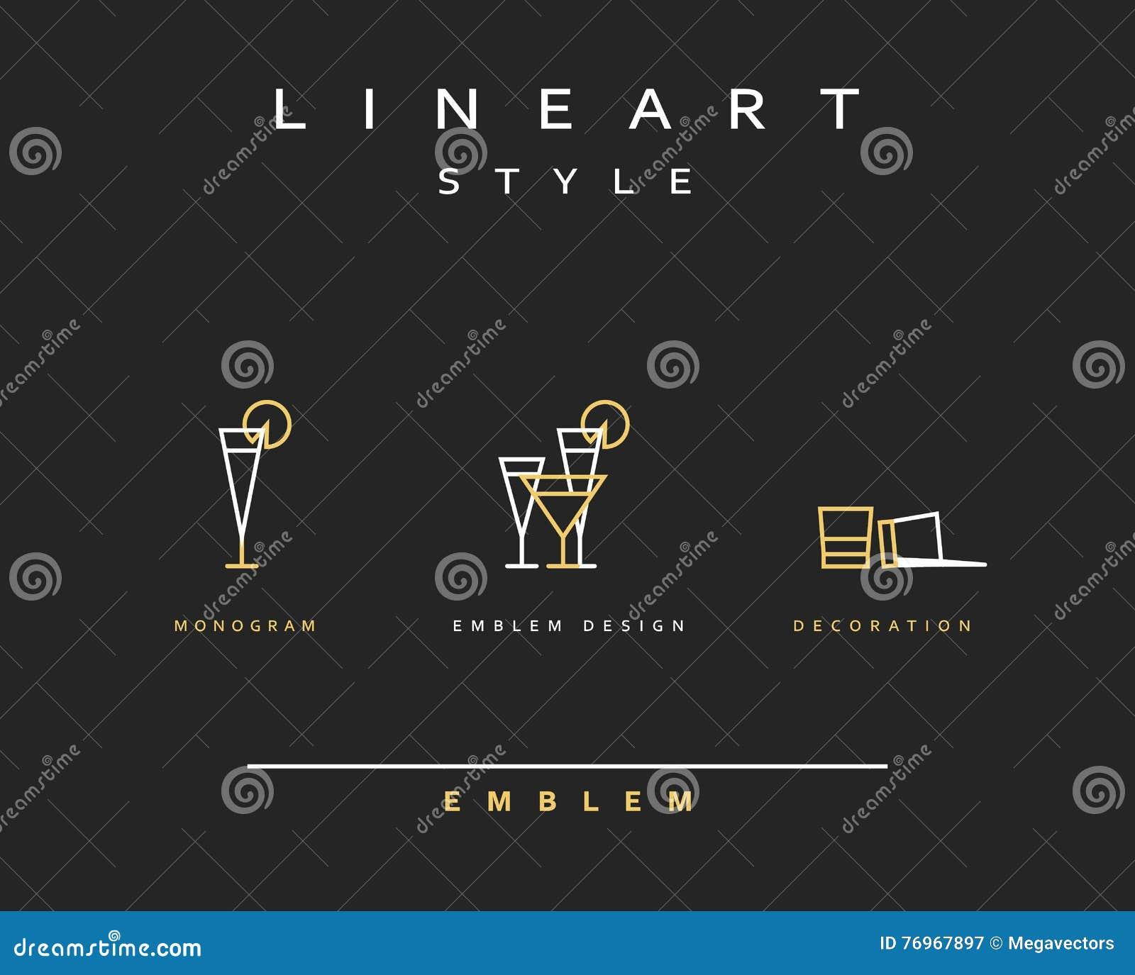 Schema Style D Icone De Vecteur De Verre A Vin De Cocktail
