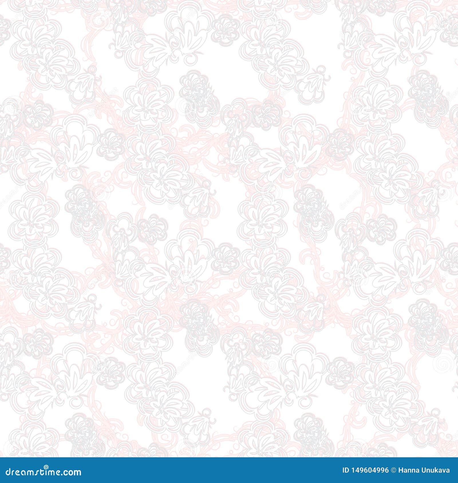 Schöne Grußkarte mit empfindlichem Muster Vektor