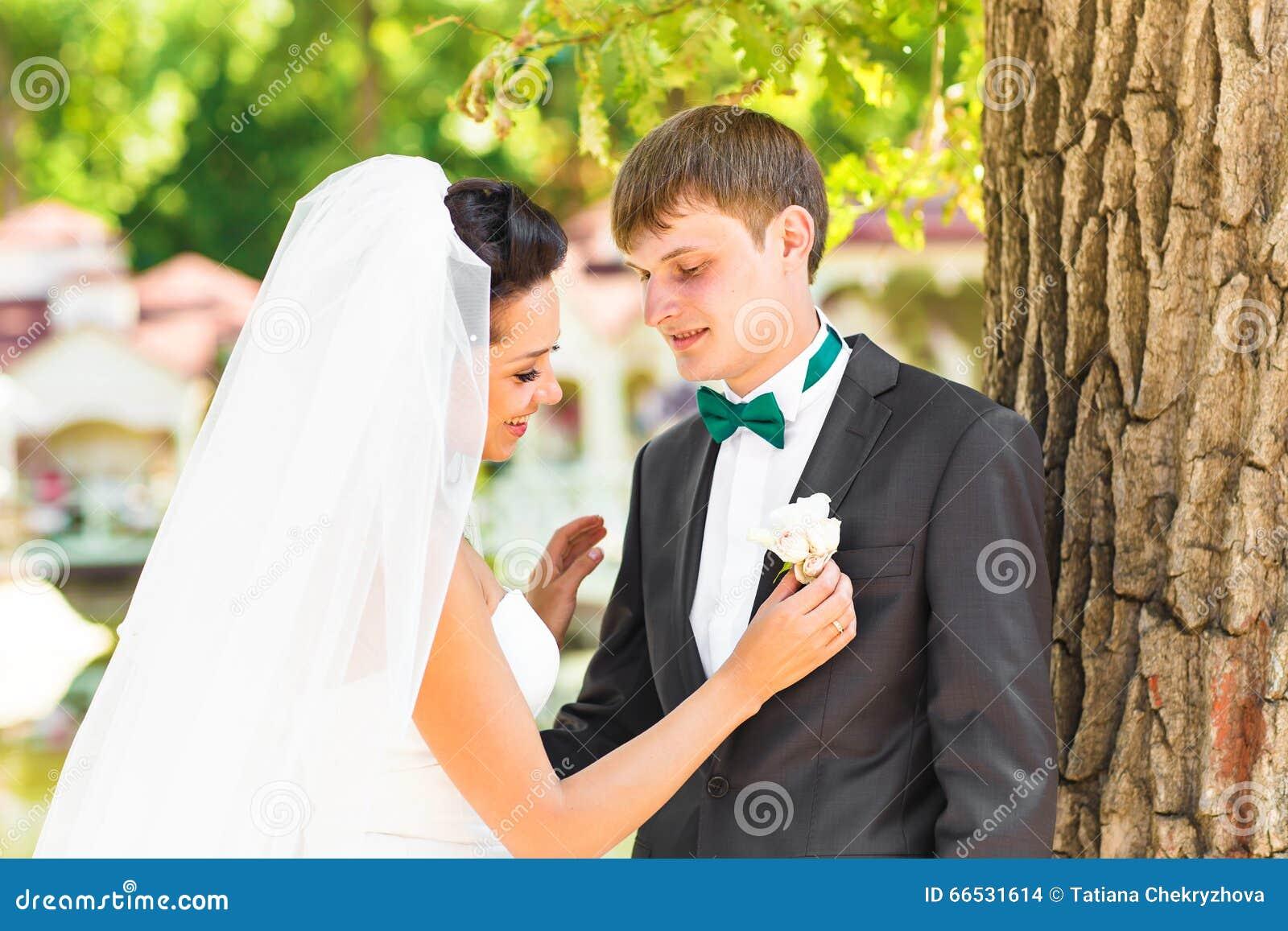 Schone Hochzeit Ehemann Und Frau Liebhaber Bemannen Frau Braut