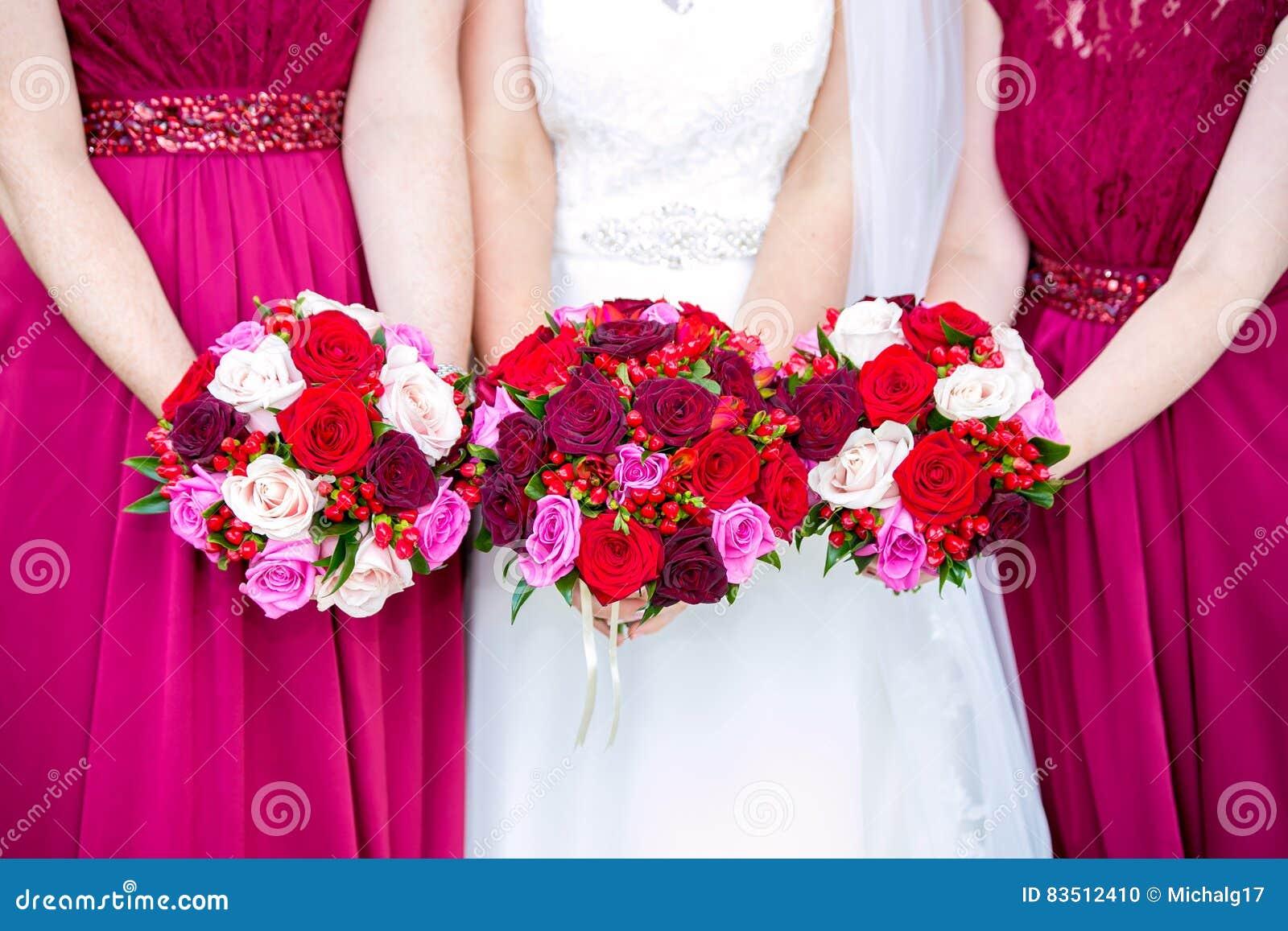 Schöne Hochzeitsblumensträuße