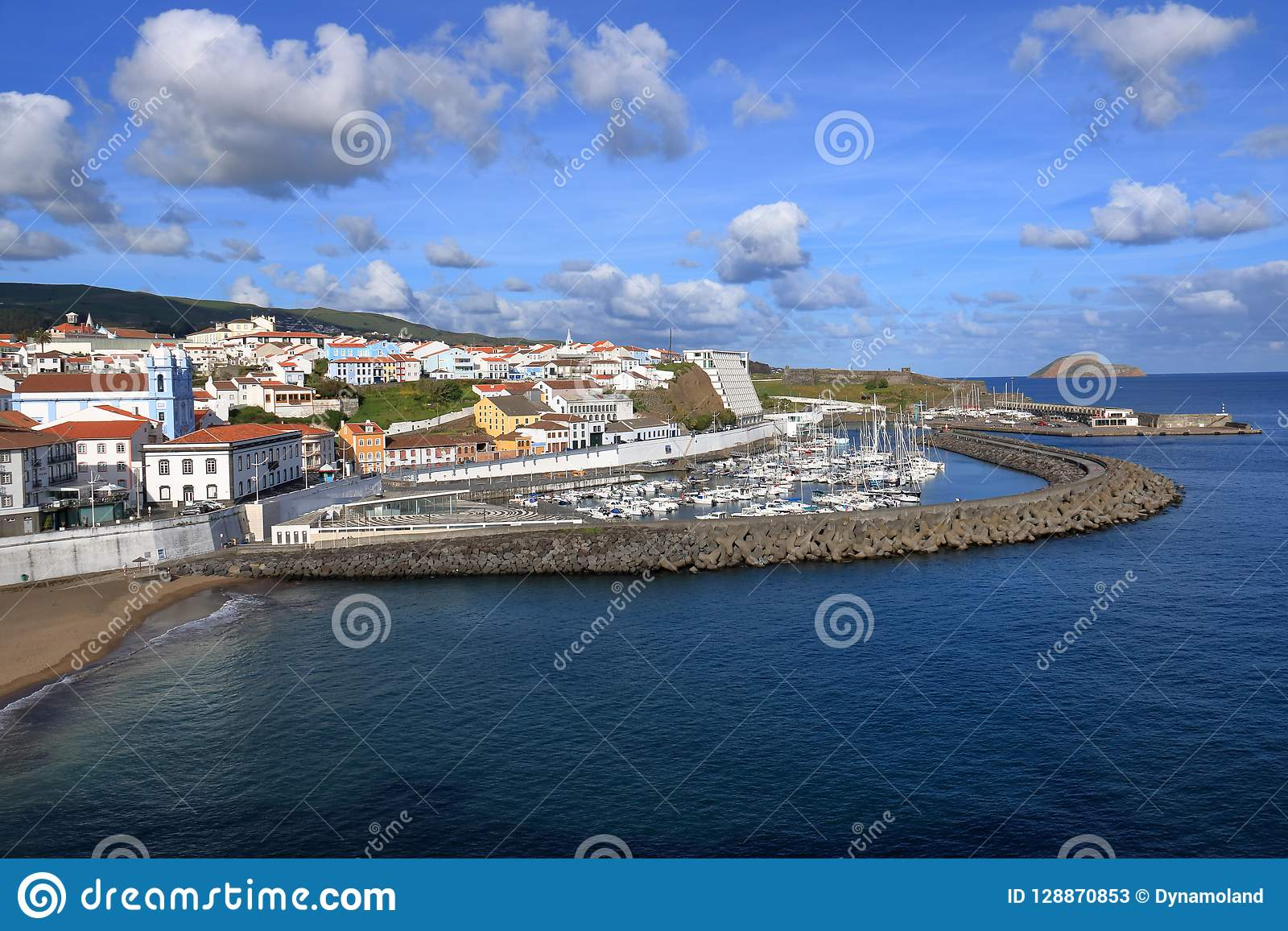 Schöne Isla Terceira bei den Azoren Portugal